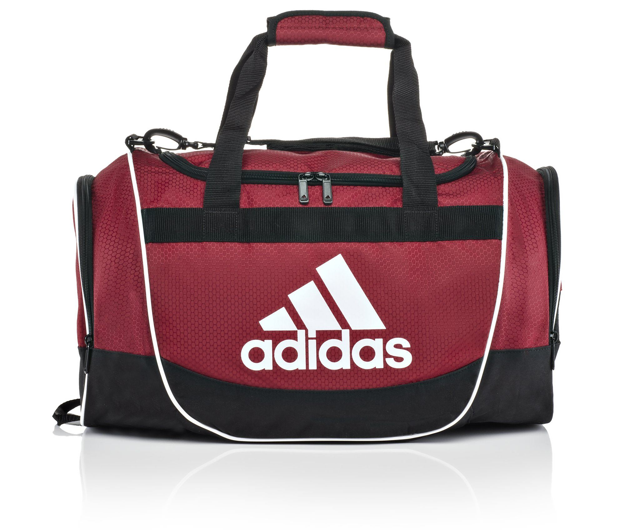 Image of Adidas Defender Small Duffel Bag (Red - Size UNSZ)