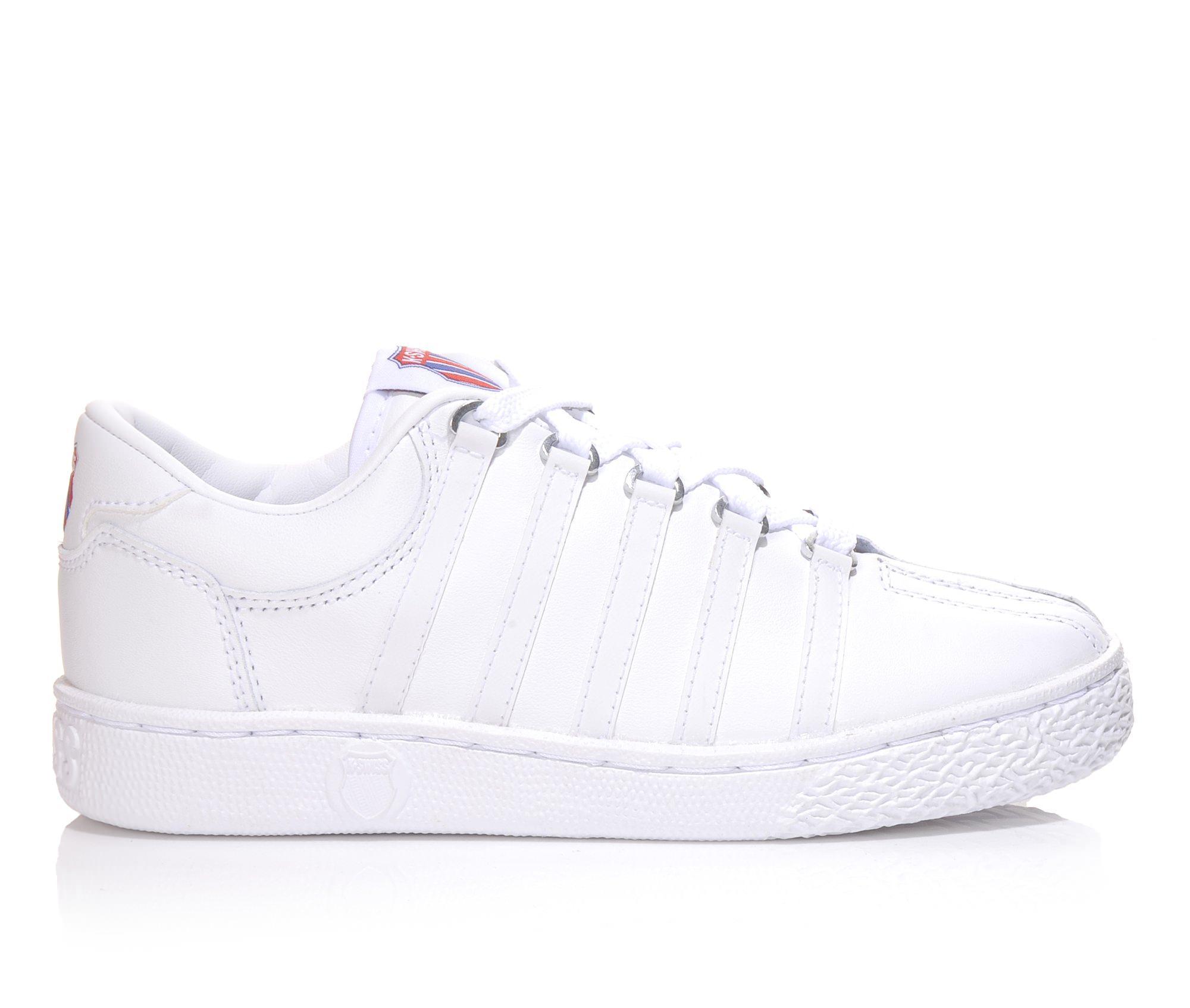 Girls' K-Swiss Classic Original Sneakers (White)