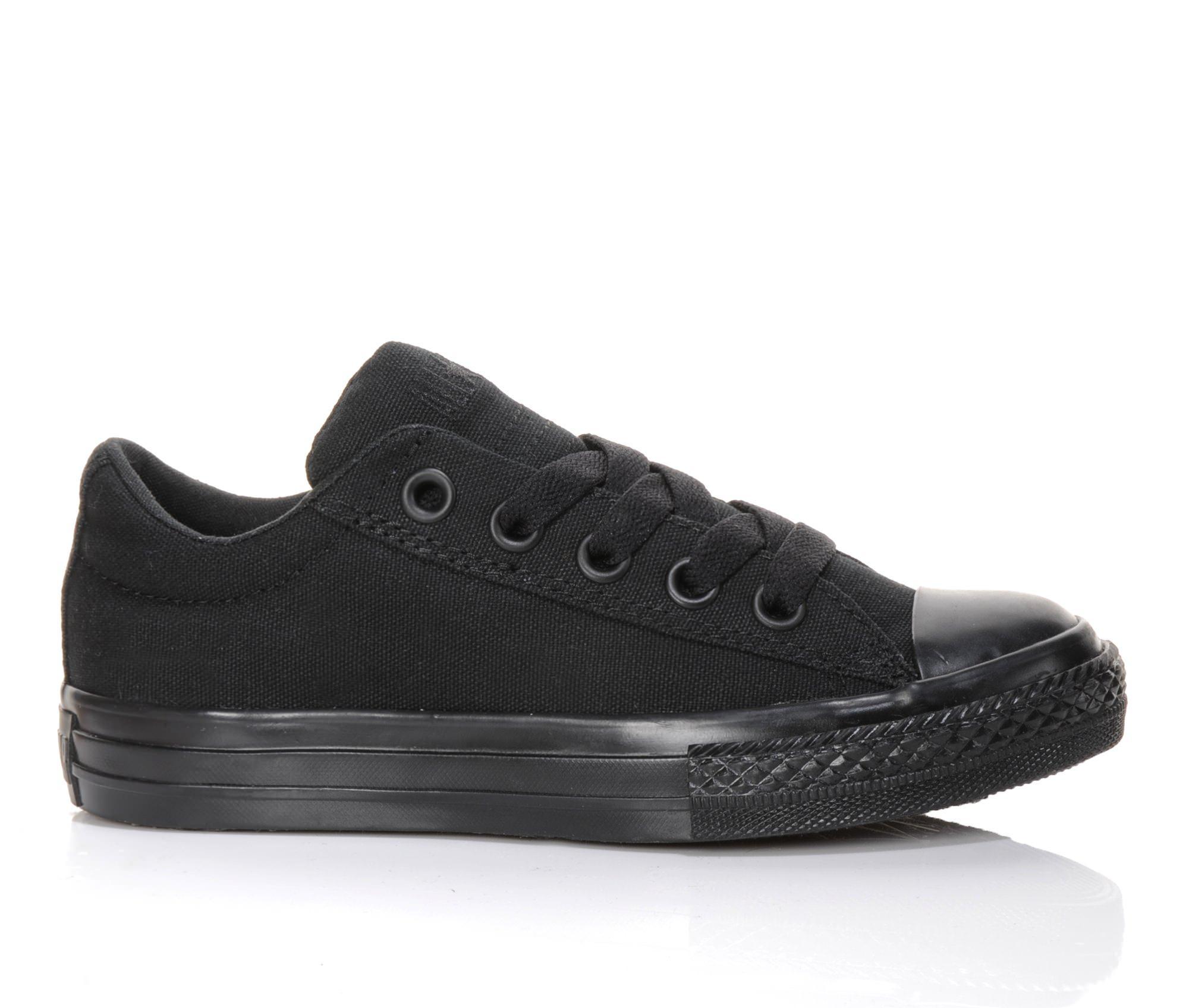 Girls' Converse Chuck Taylor All Star Street Ox Sneakers (Black)