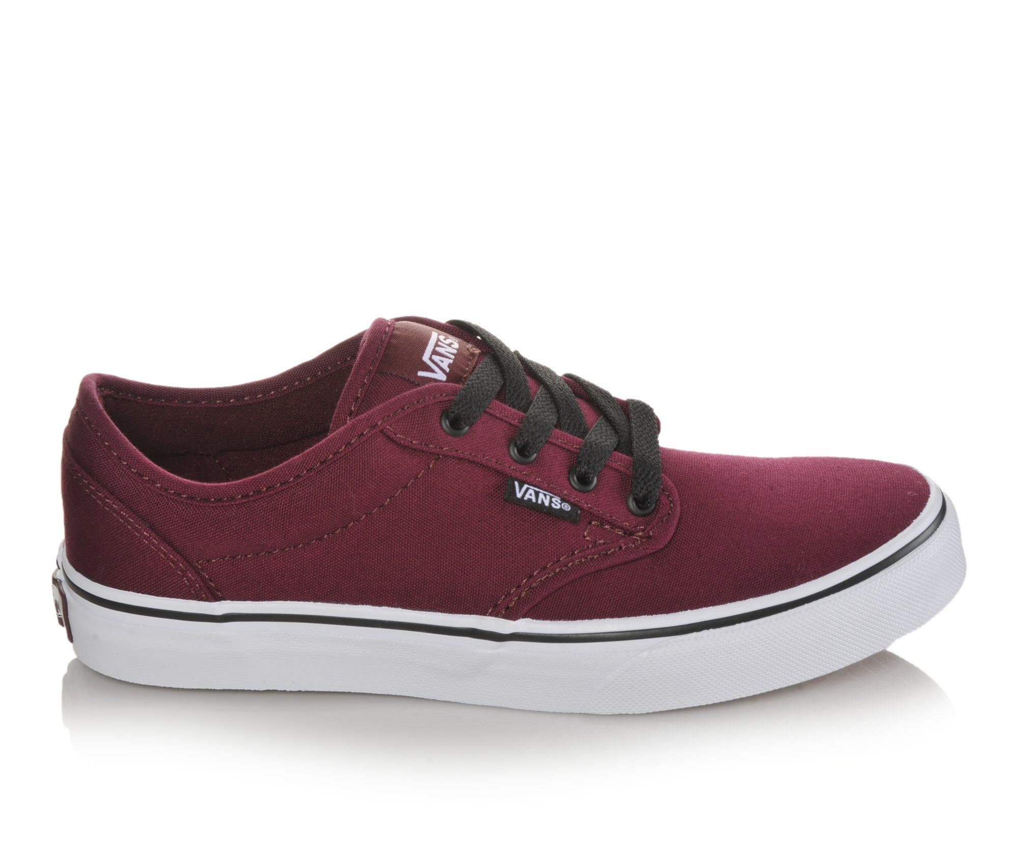 Boys' Vans Atwood Skate Shoes (Red)