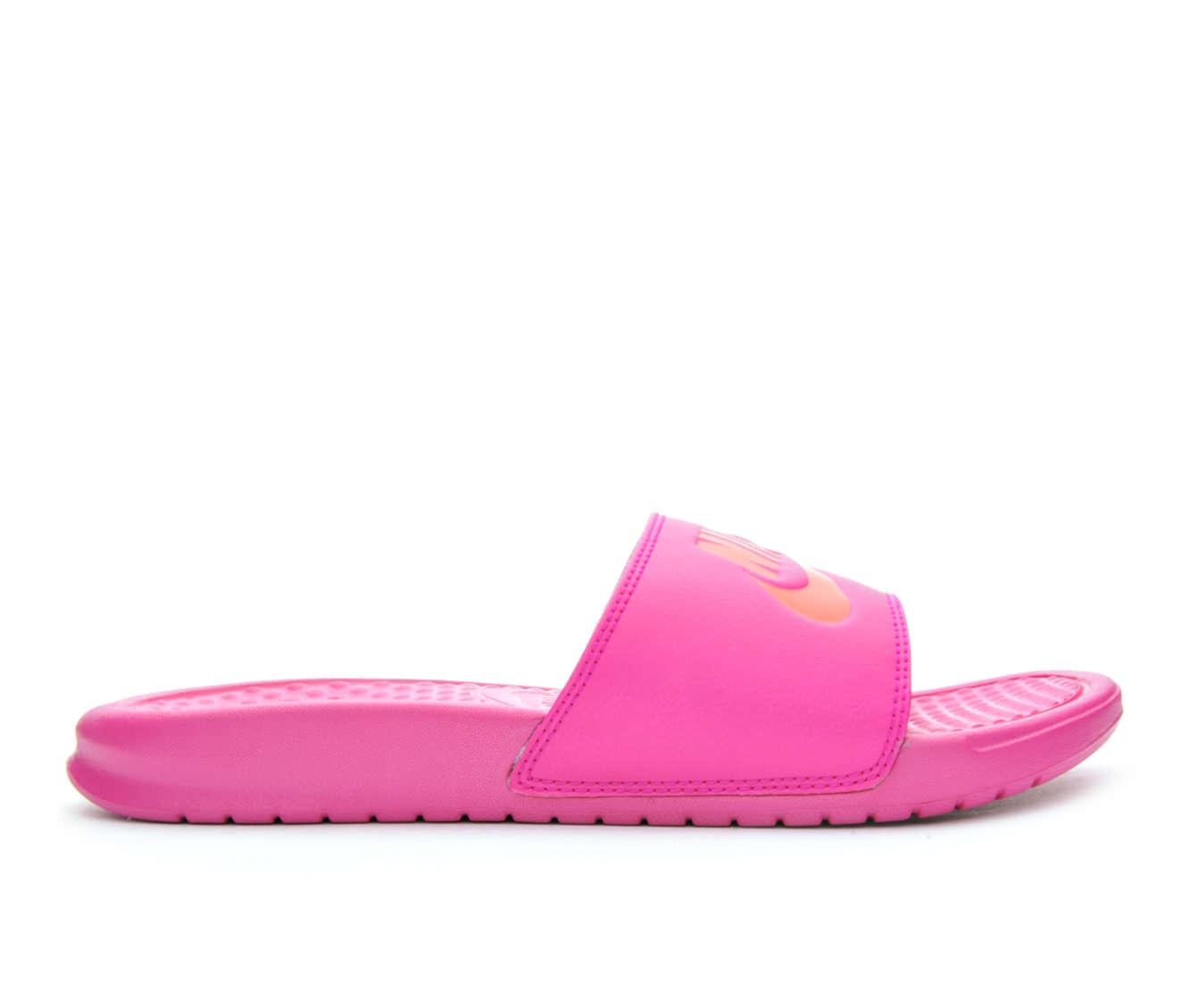 Women's Nike Benassi JDI Sandals (Pink)