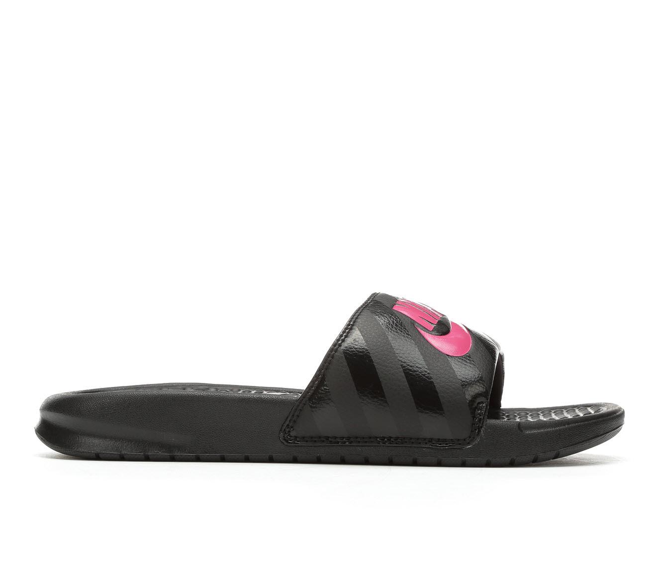 Women's Nike Benassi JDI Sandals (Black)