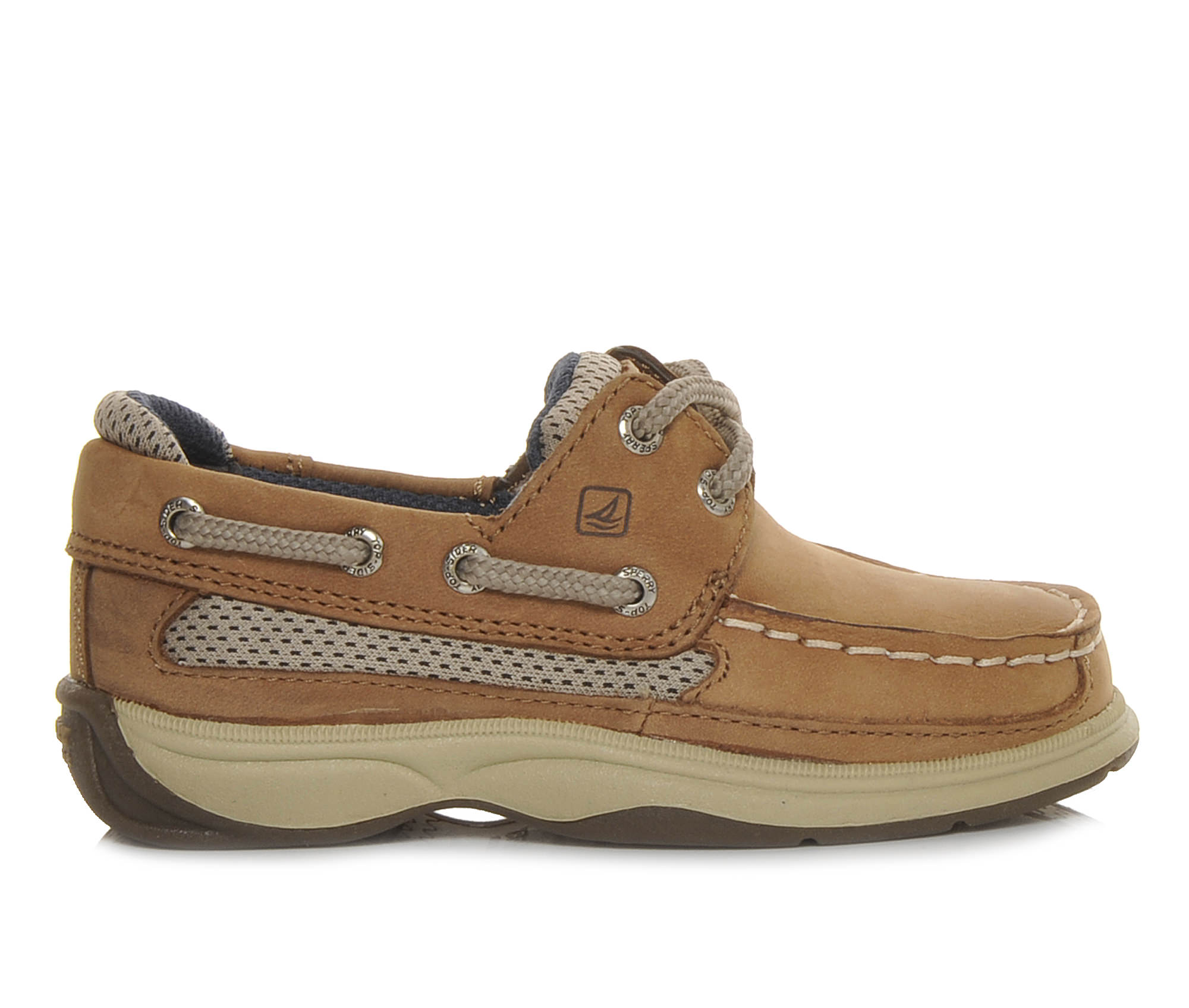 Boys' Sperry Infant Lanyard Boat Shoes (Brown)