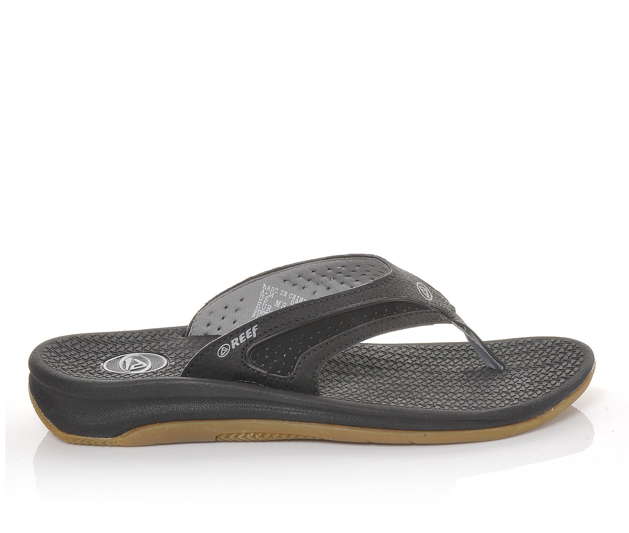 Men's Reef Flex Sandals (Black)