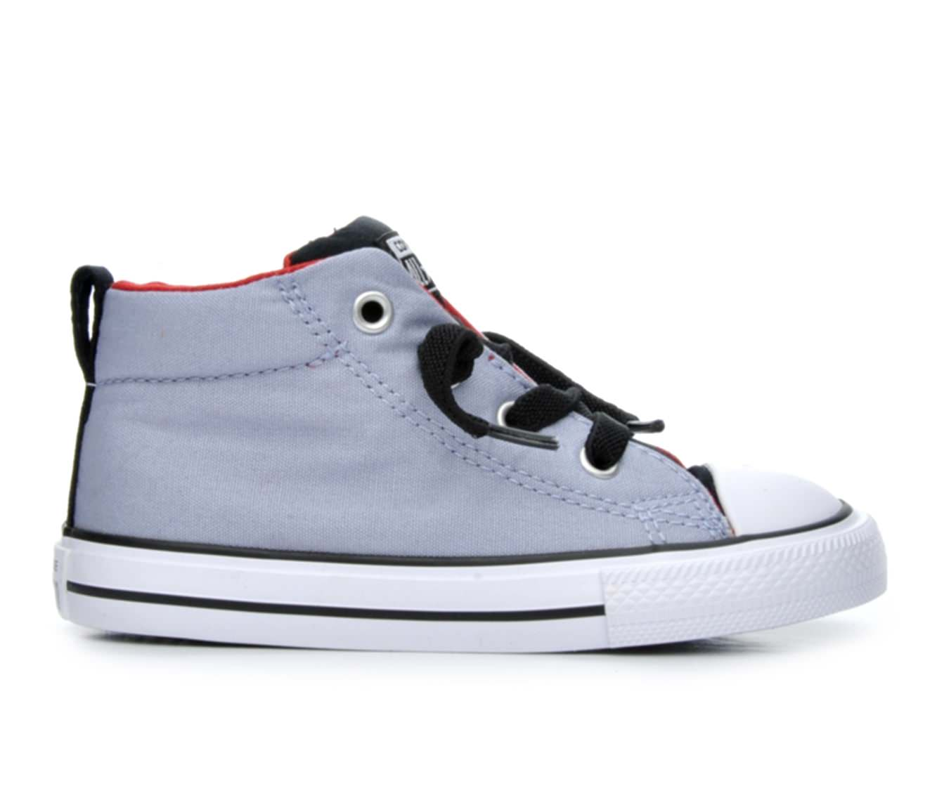Boys' Converse Infant Chuck Taylor All Star Street Mid Sneakers (Blue)