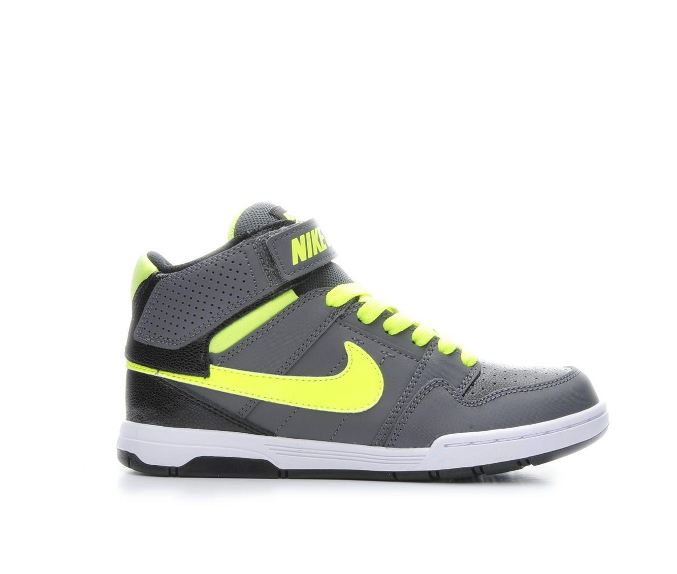 Boys' Nike Mogan Mid 2 Jr Skate Shoes (Grey)