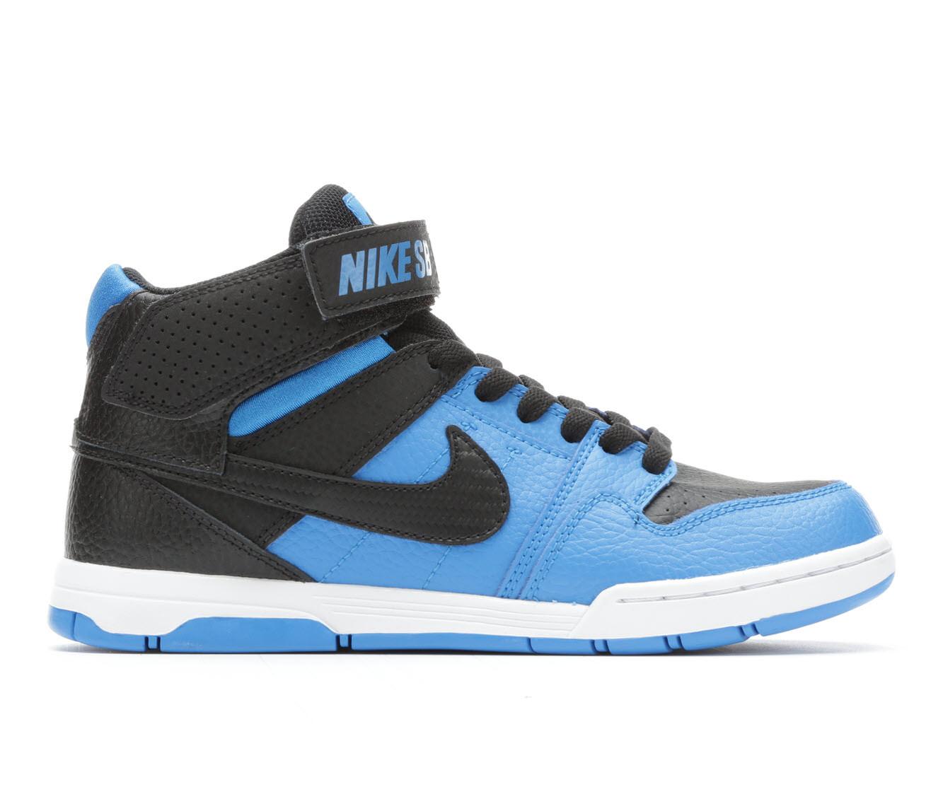 Boys' Nike Mogan Mid 2 Jr Skate Shoes (Blue)