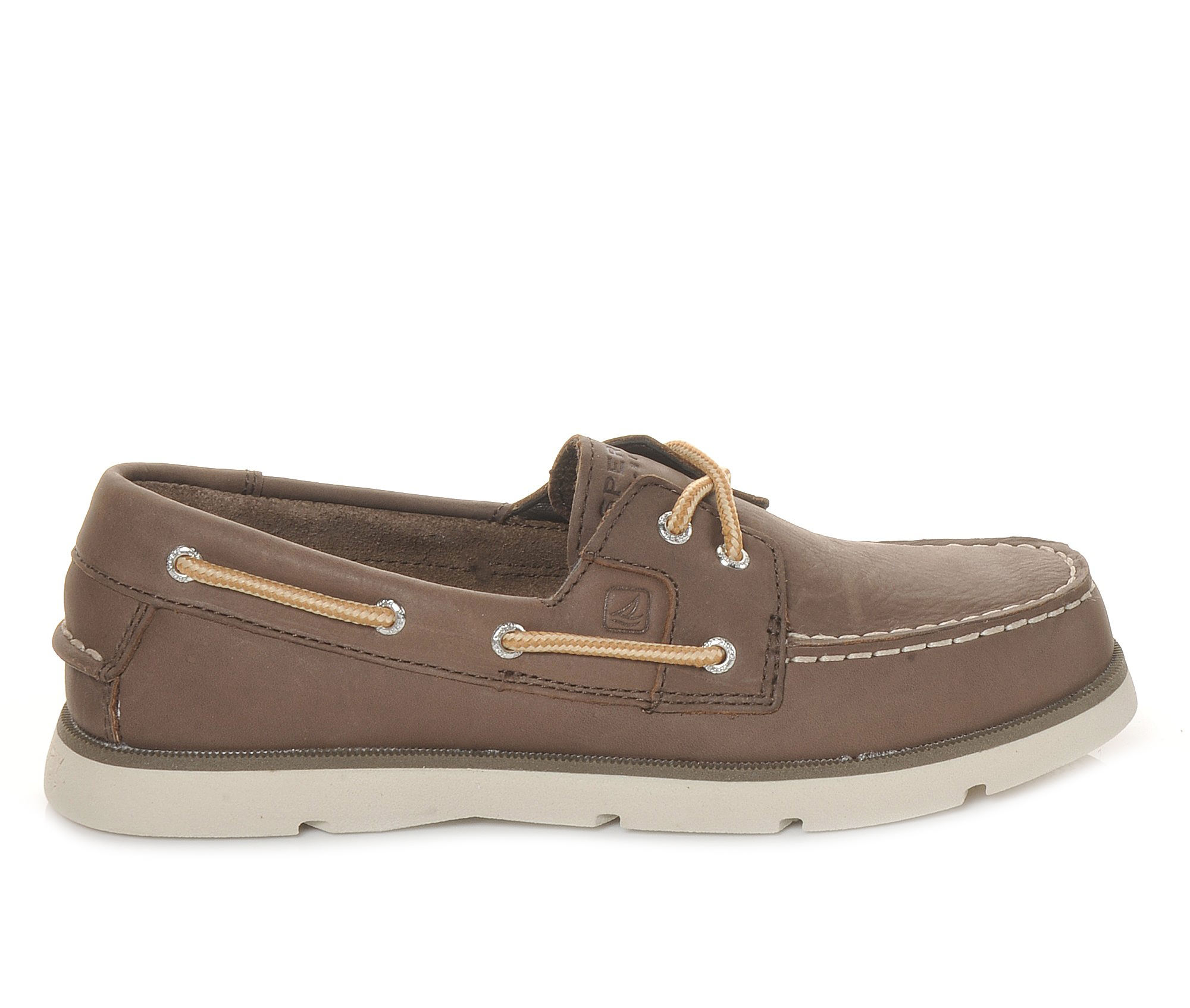 Boys' Sperry Leeward Loafers (Brown)