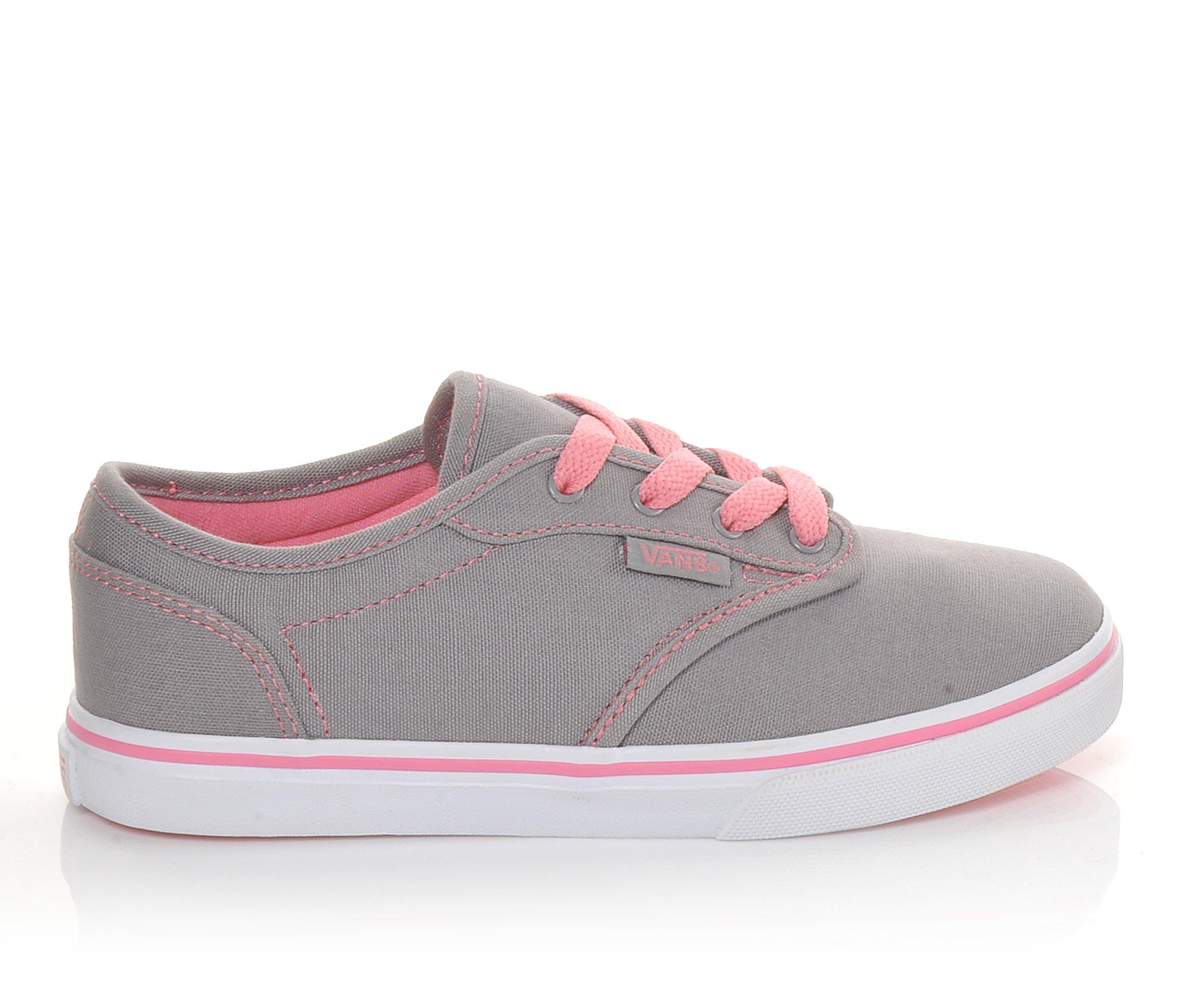 Girls' Vans Atwood Low G Skate Shoes (Grey)