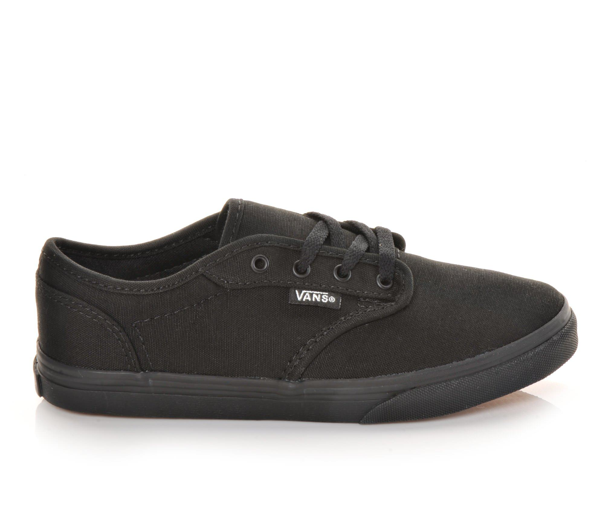 Girls' Vans Atwood Low G Skate Shoes (Black)