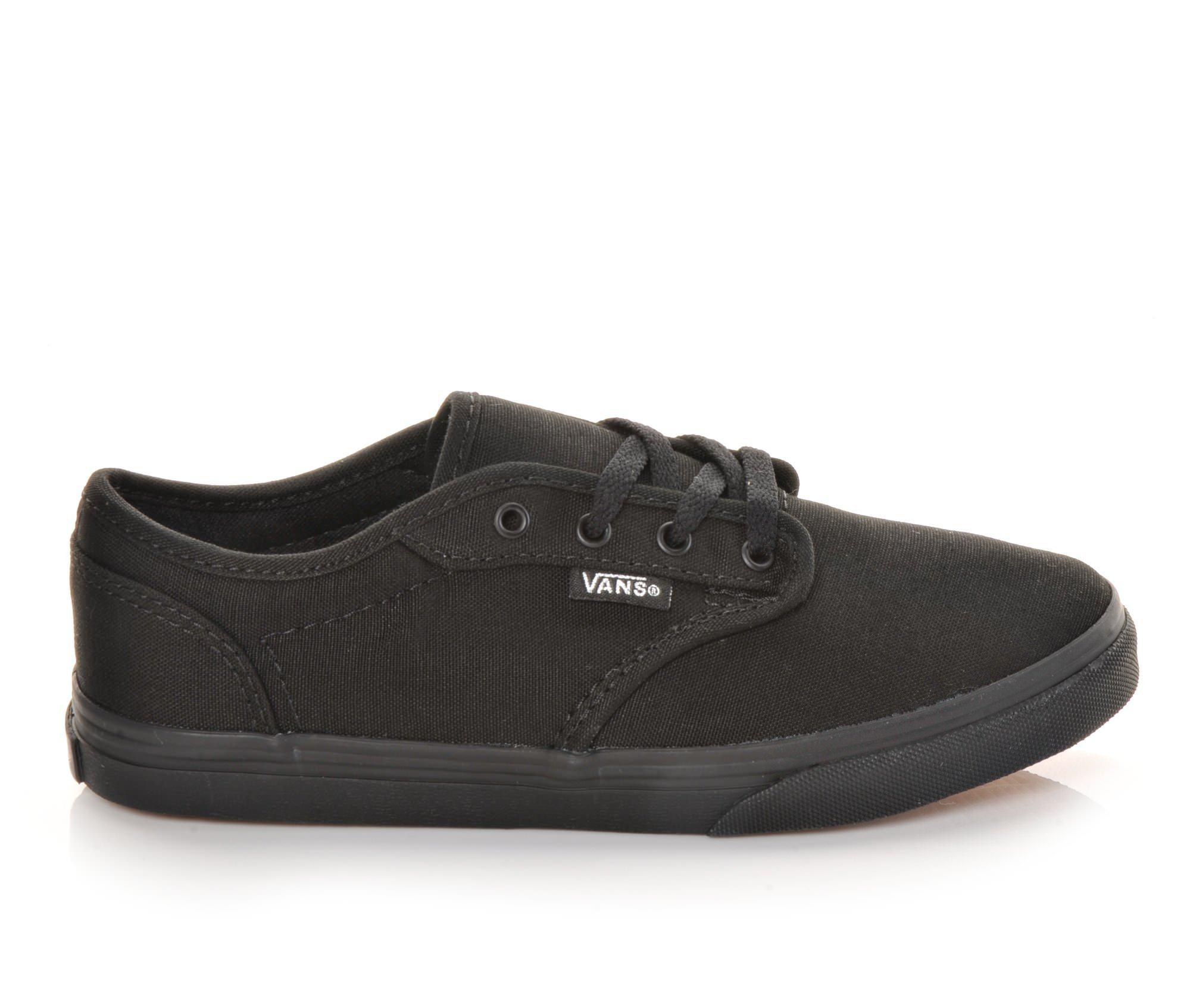 Girls' Vans Atwood Low G Skate Shoes (Black)