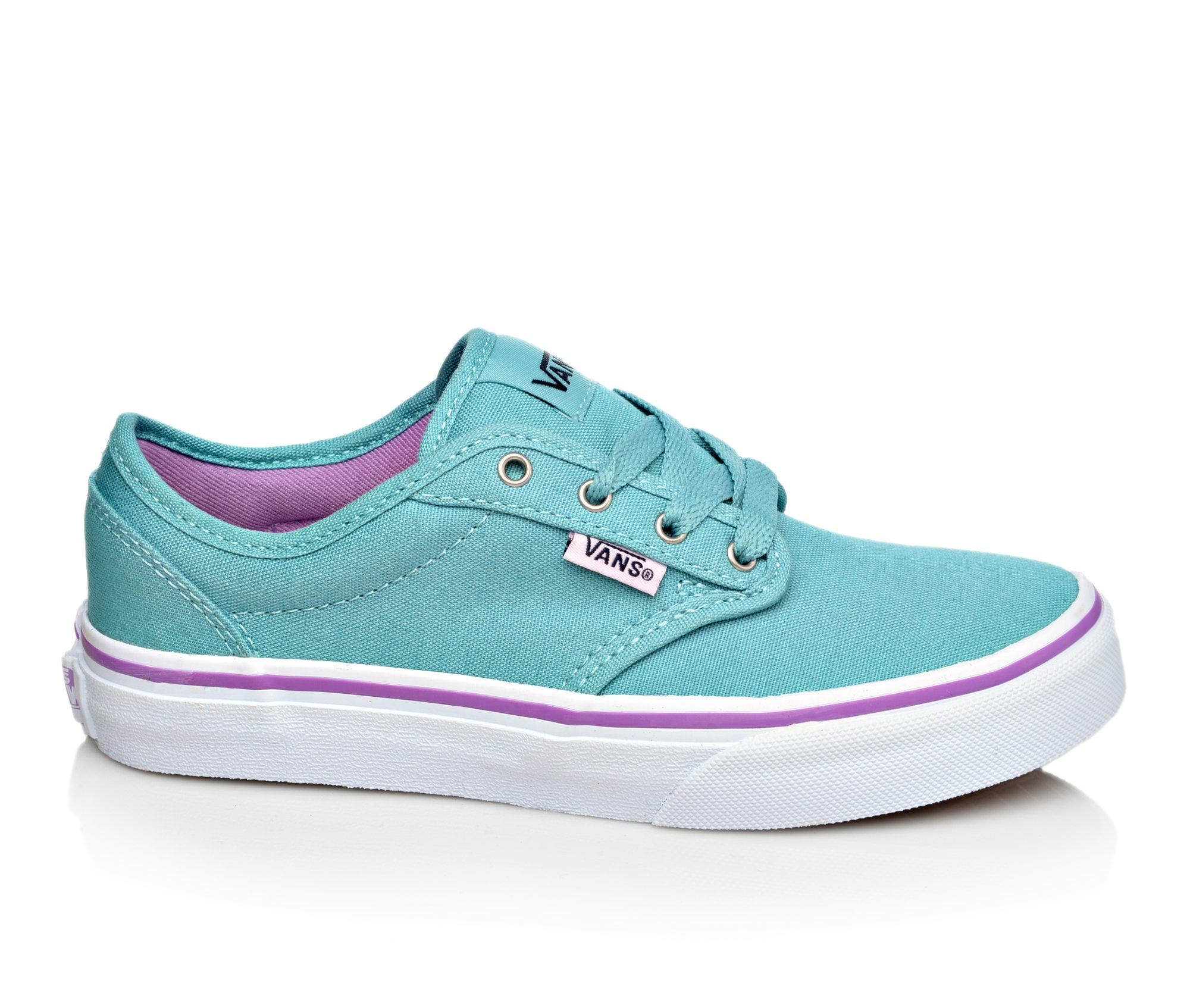 Girls' Vans Atwood G Skate Shoes (Blue)