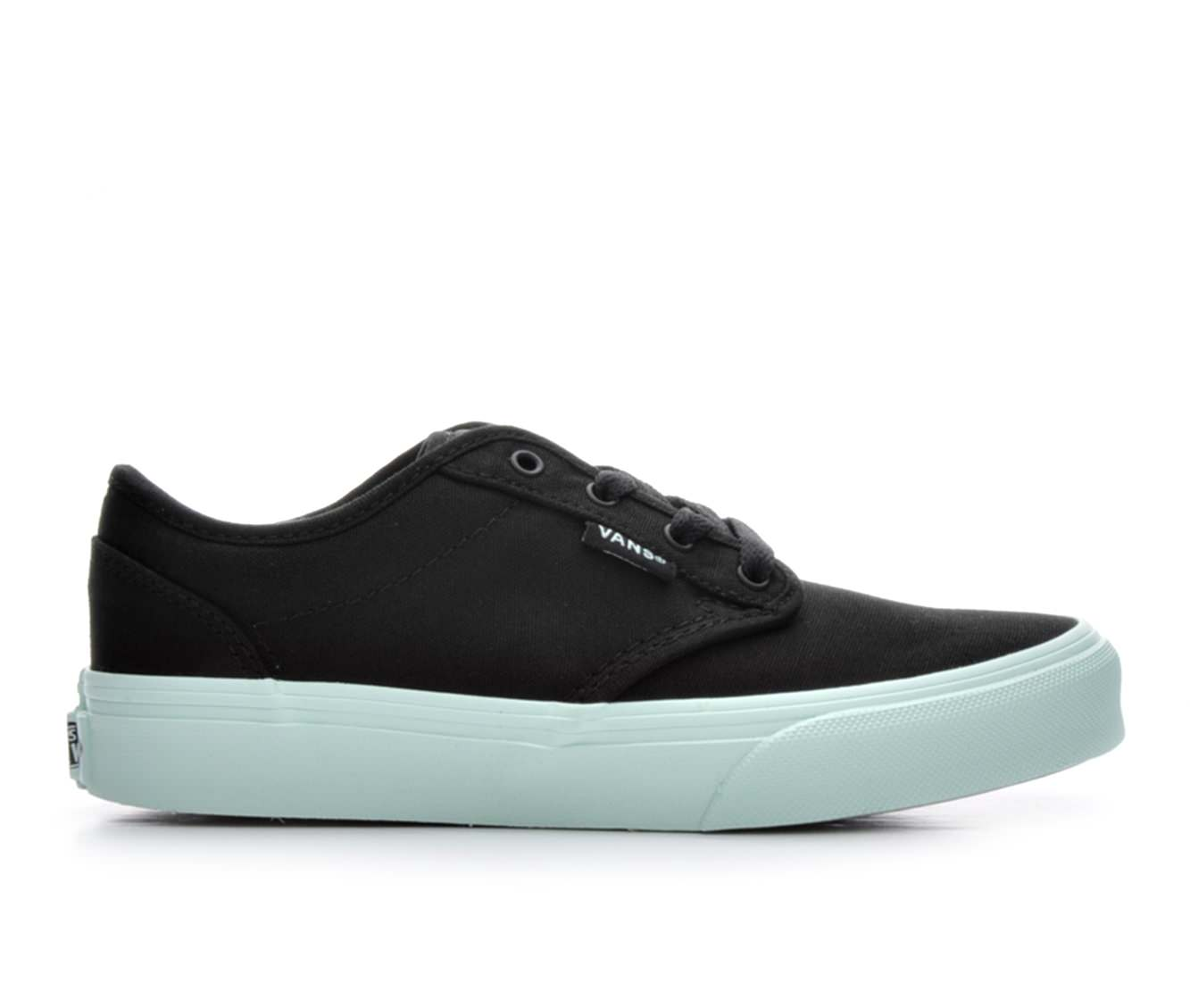 Girls' Vans Atwood G Skate Shoes (Black)