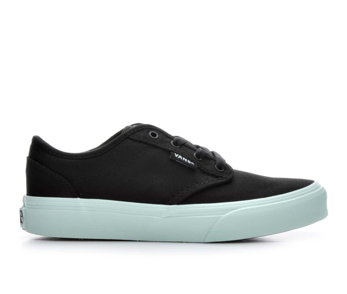 Girls' Vans Atwood G Skate Shoes (Black)