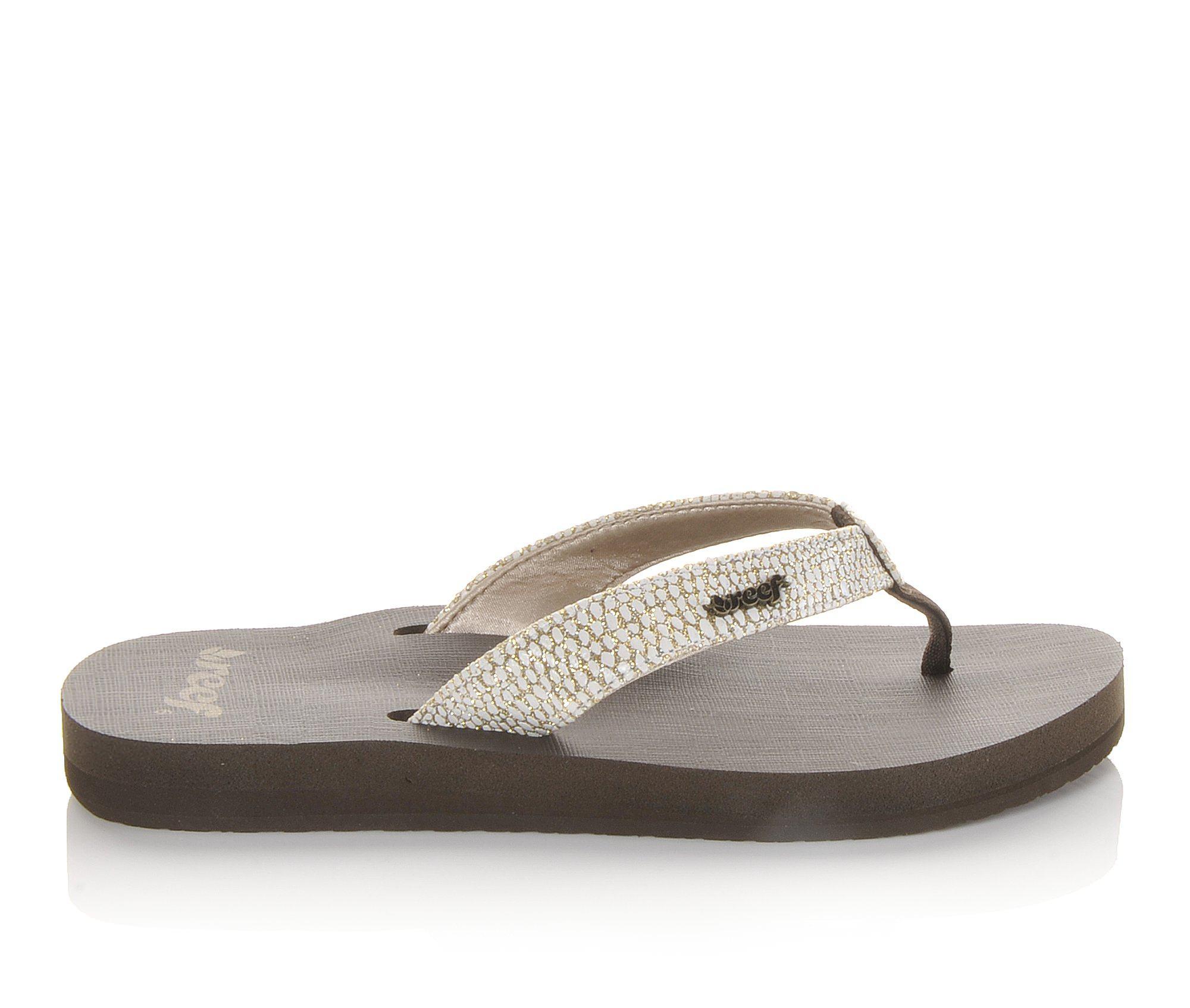 Women's Reef Sassy Star Sandals (Brown)