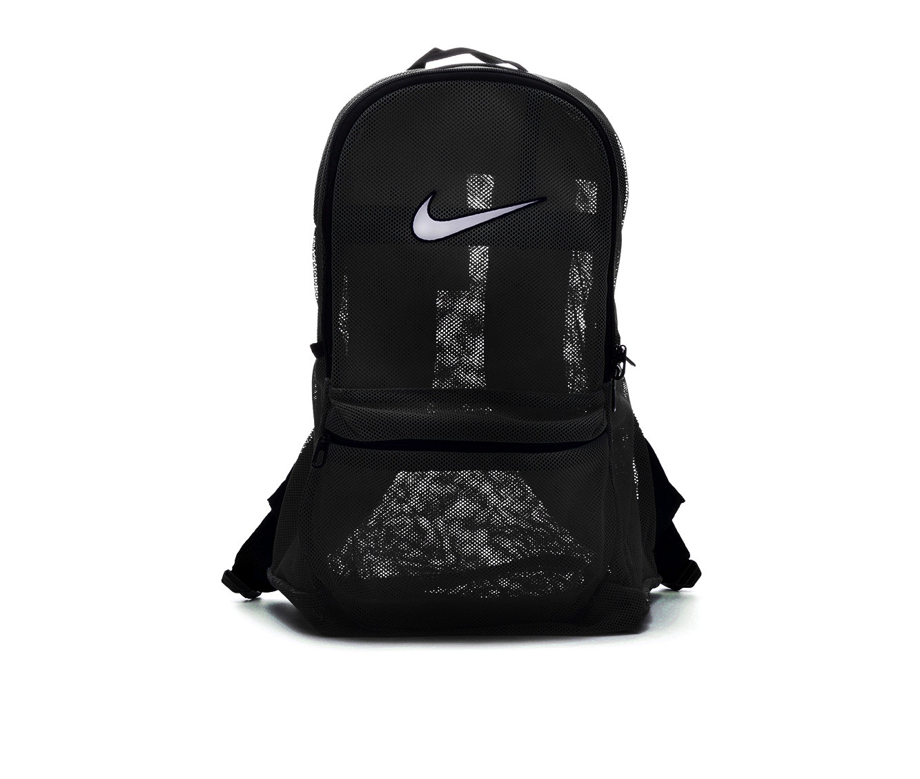 Nike Brasilia Mesh Backpack (Black - Size UNSZ) 1653154
