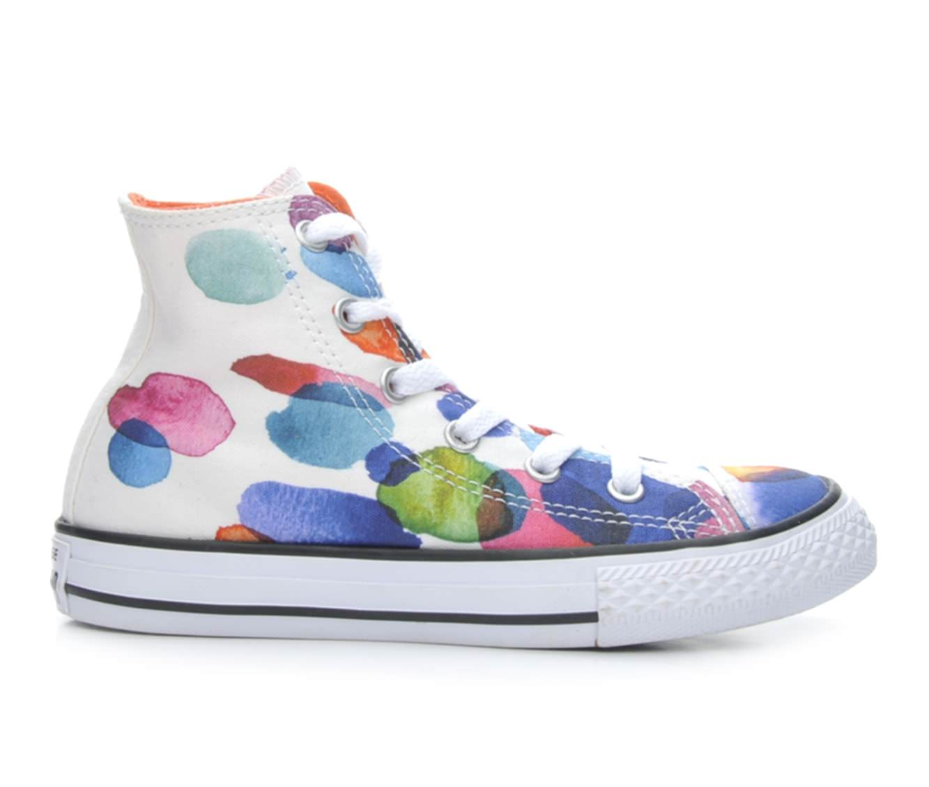 Girls' Converse Chuck Taylor All Star Hi Sneakers (Multicolor)
