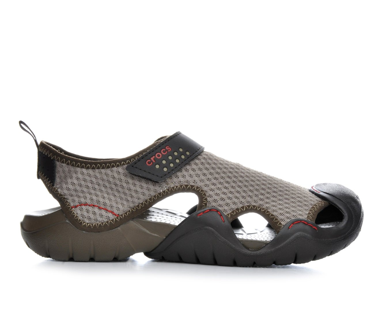 Men's Crocs Swiftwater Sandal M Sandals (Brown)