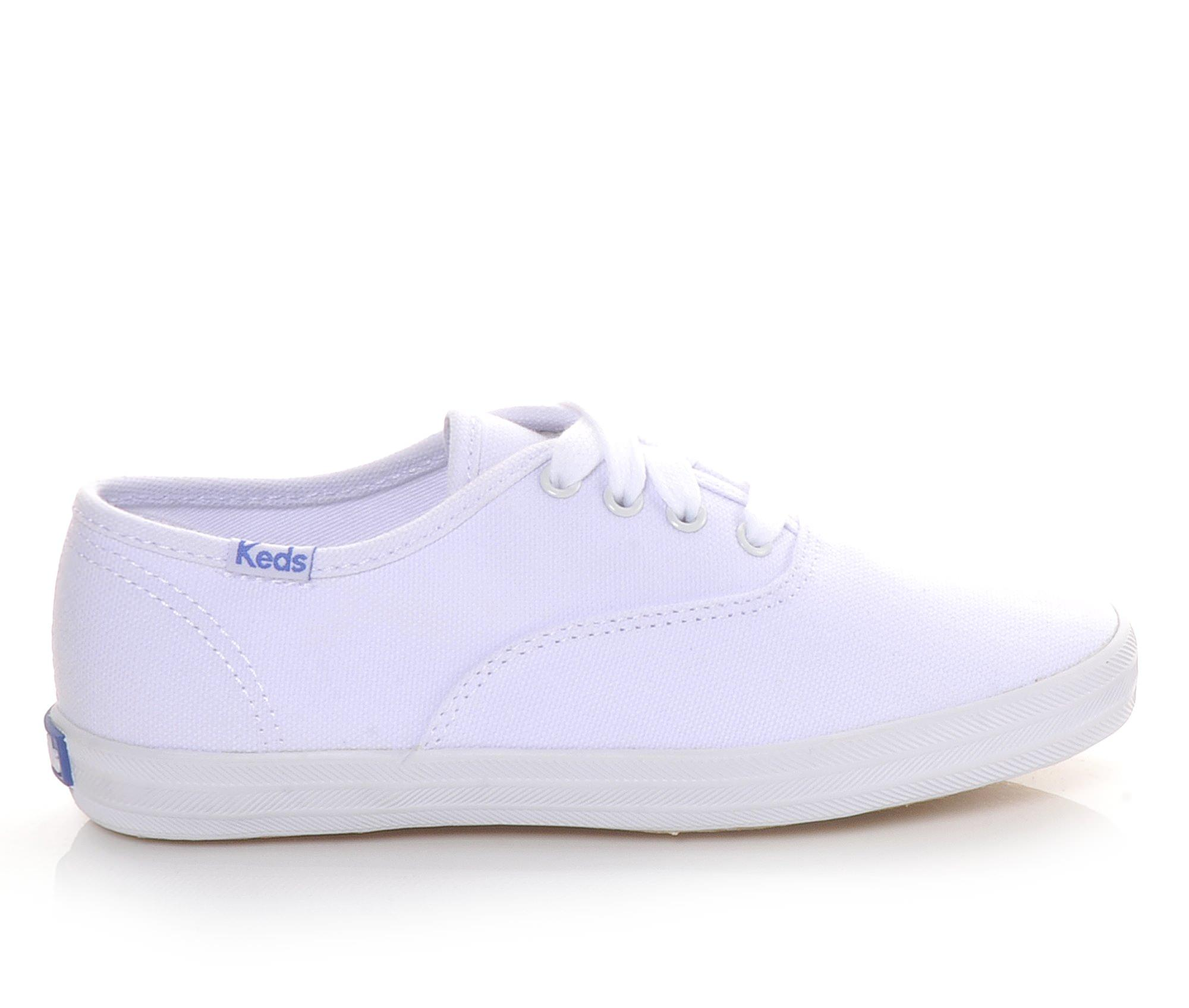 Girls' Keds Infants Champion Ox Oxford Shoes (White)