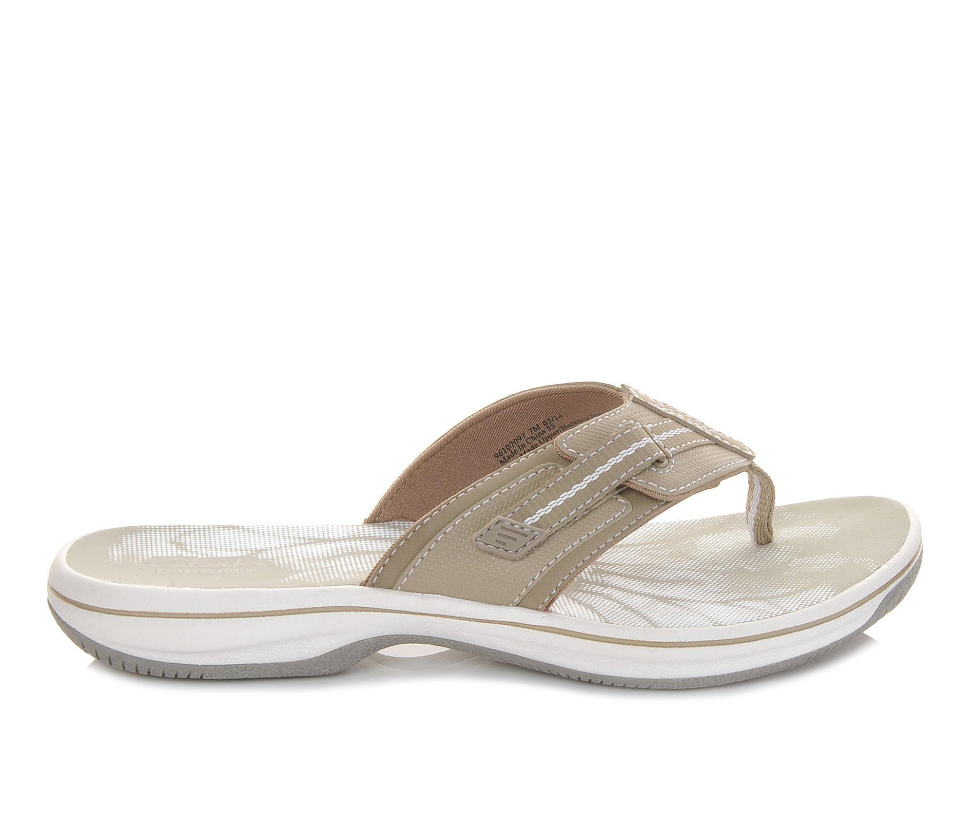Women's Clarks Brinkley Jazz Sandals (Beige)