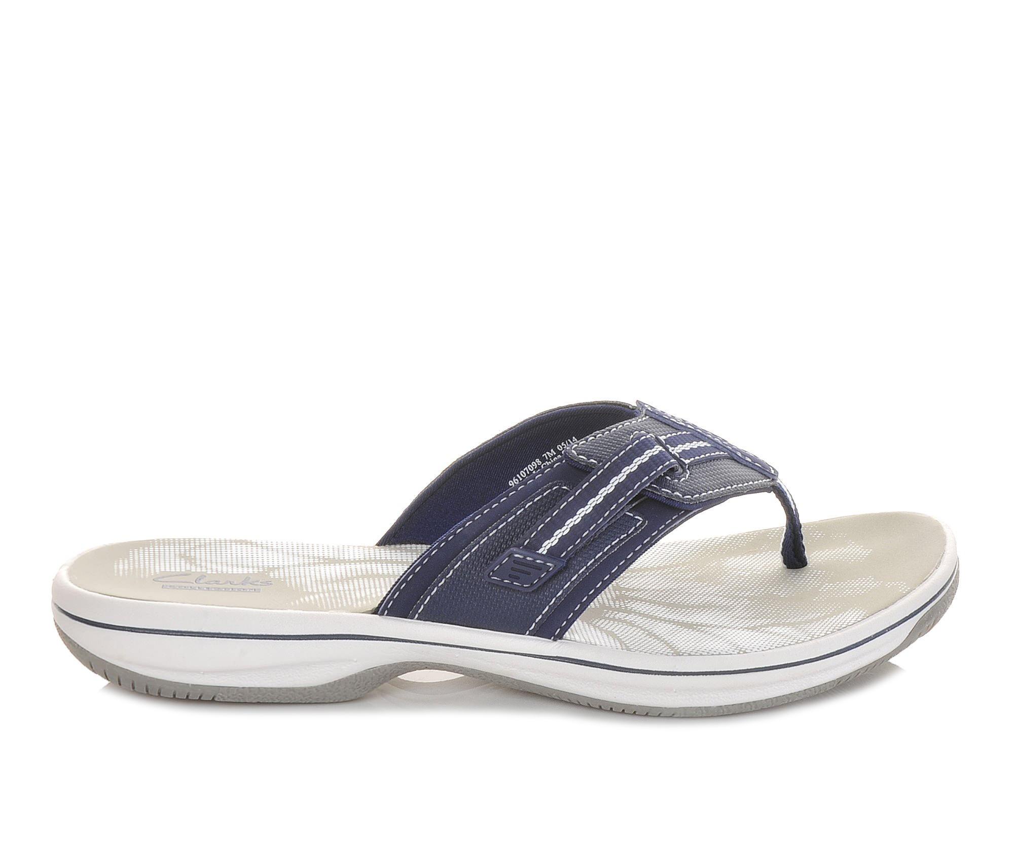 Women's Clarks Brinkley Jazz Sandals (Blue)
