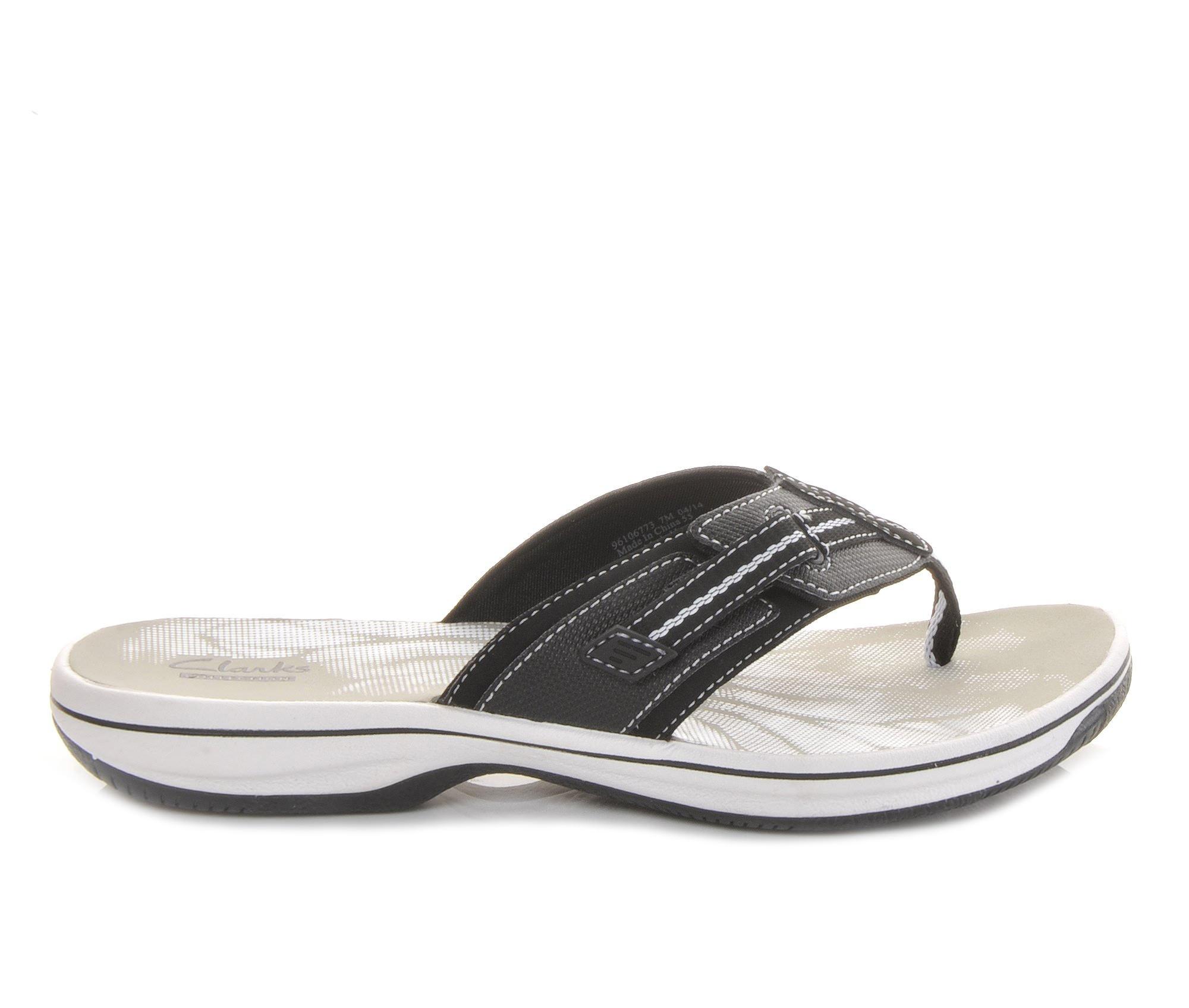 Women's Clarks Brinkley Jazz Sandals (Black)
