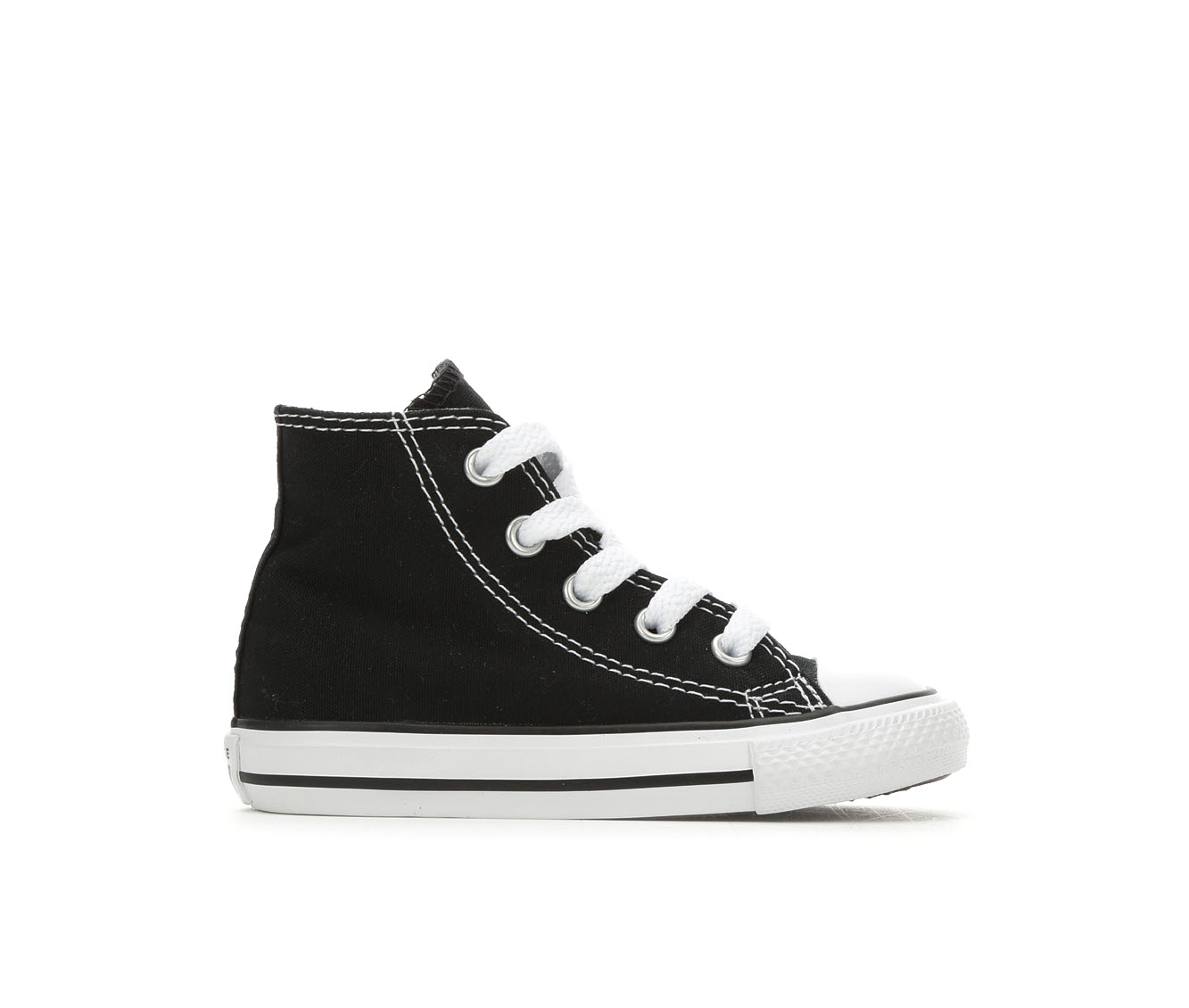 Boys' Converse Infant Chuck Taylor All Star Canvas Hi Sneakers (Black)