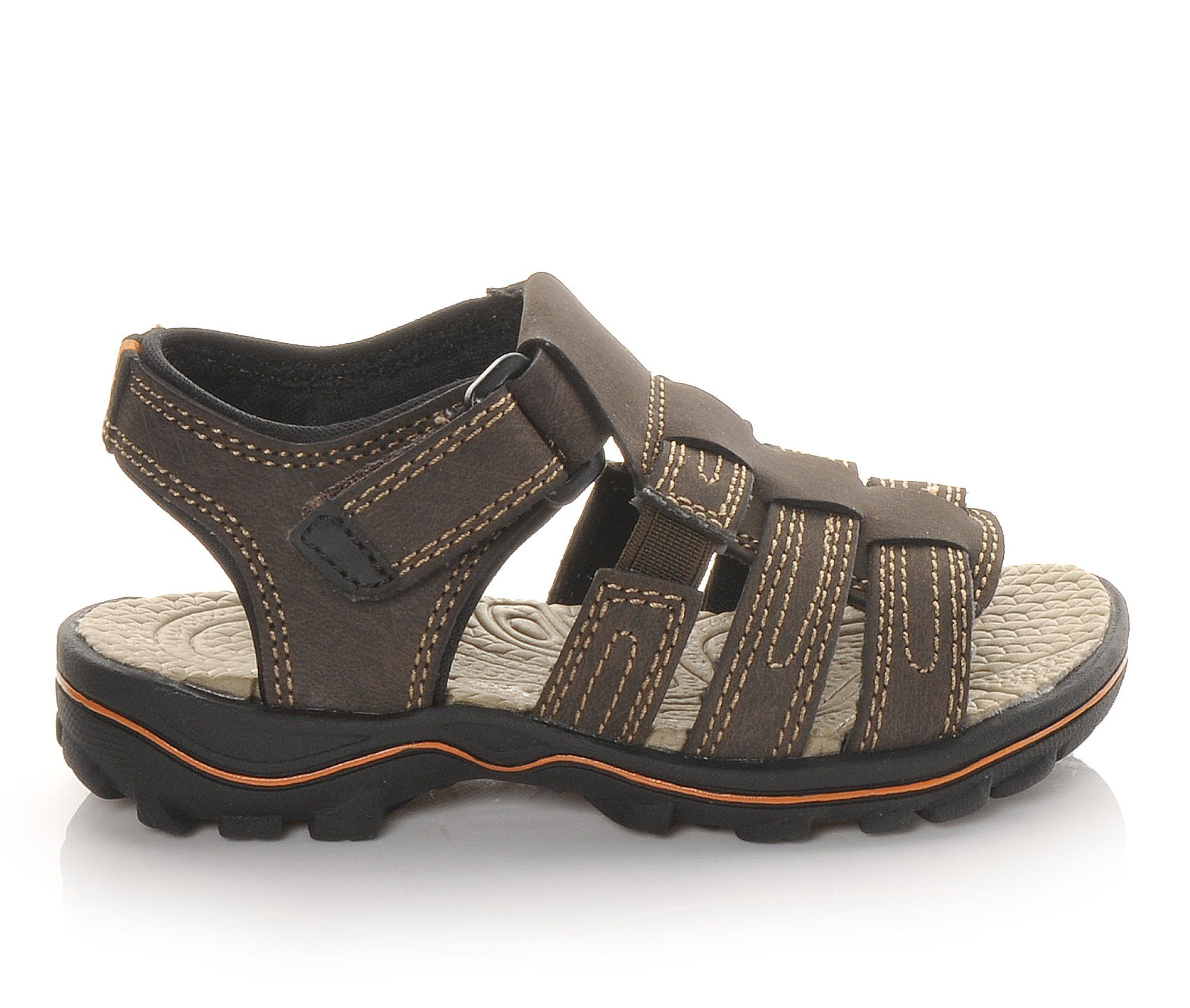 Boys' Beaver Creek Infant Lake Sandals (Brown)