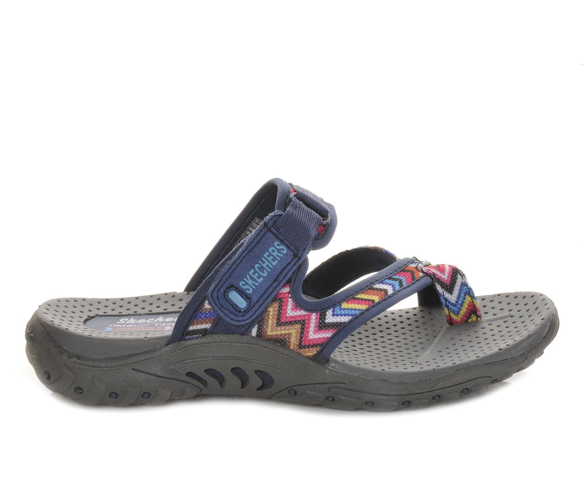 Women's Skechers Zig Swag 48228 Sandals (Multicolor)