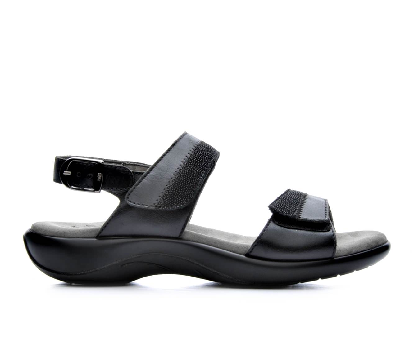 Women's Sas Nudu Sandals (Black)