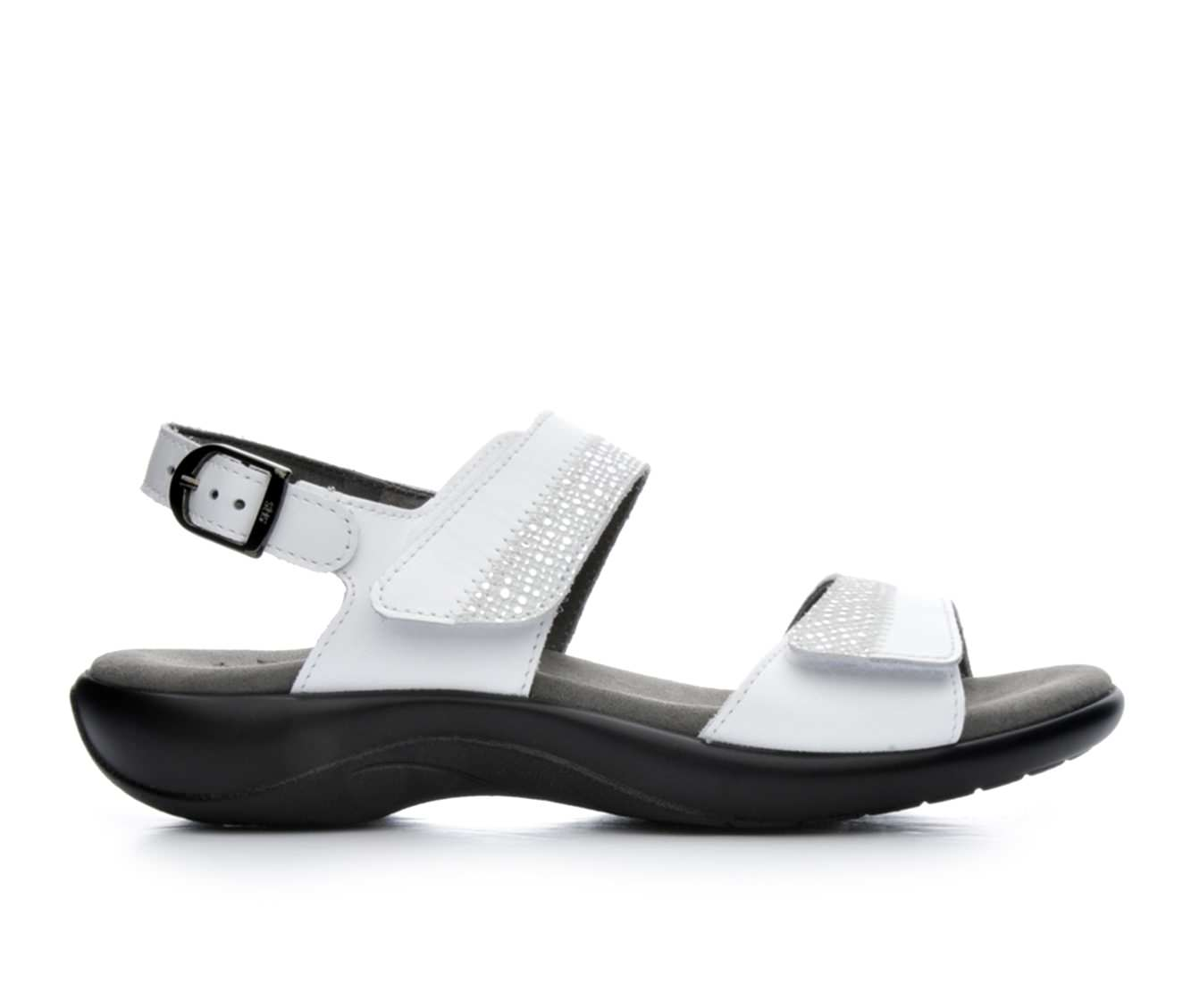 Women's Sas Nudu Sandals (White)