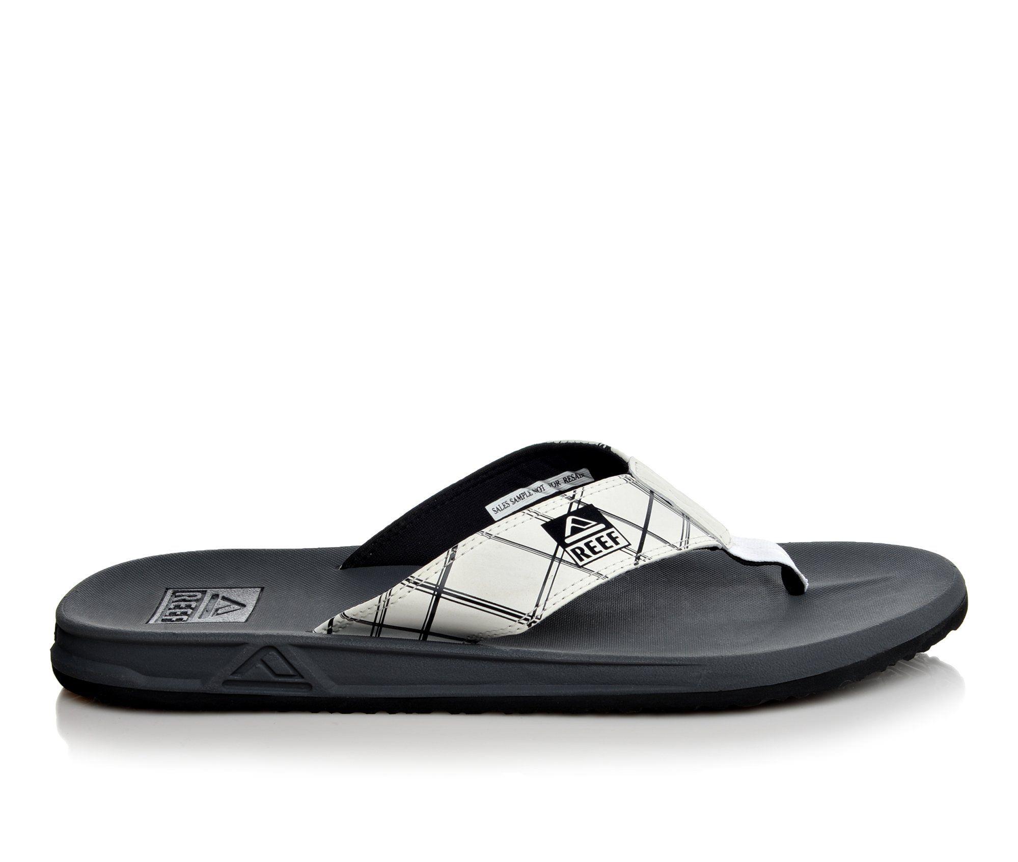 Men's Reef Element Prints Sandals (White)