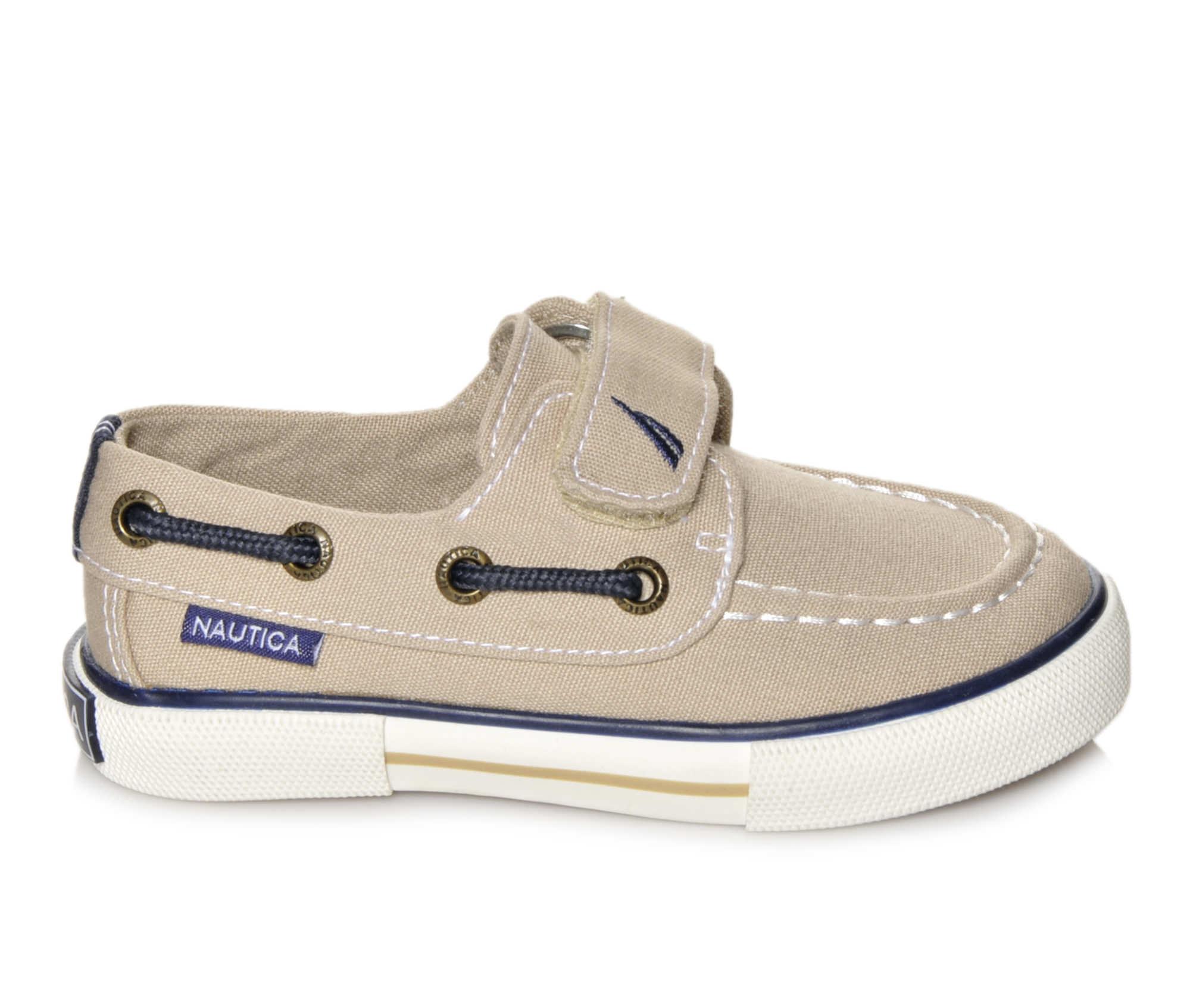 Boys' Nautica Little River 2 Sneakers (Beige)