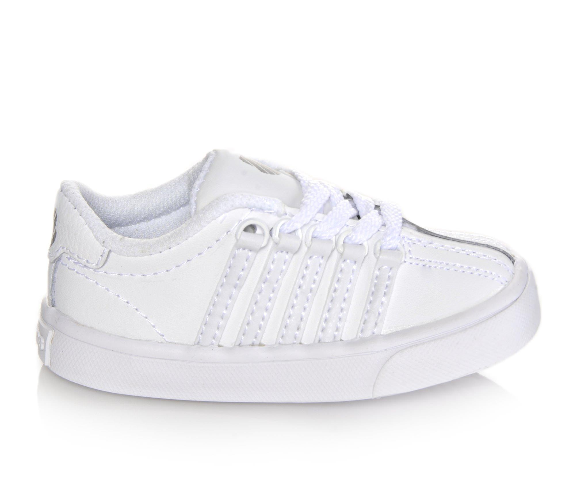 Girls' K-Swiss Infant Classic VN Sneakers (White)