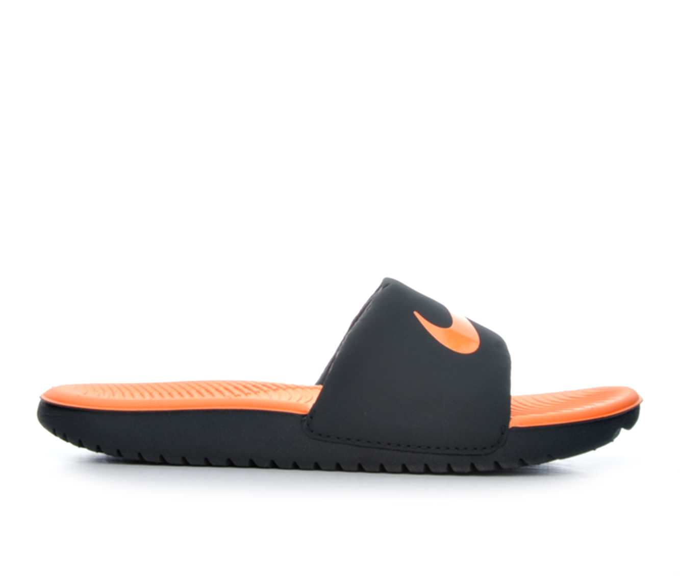Boys' Nike Kawa Slide Sandals (Grey)