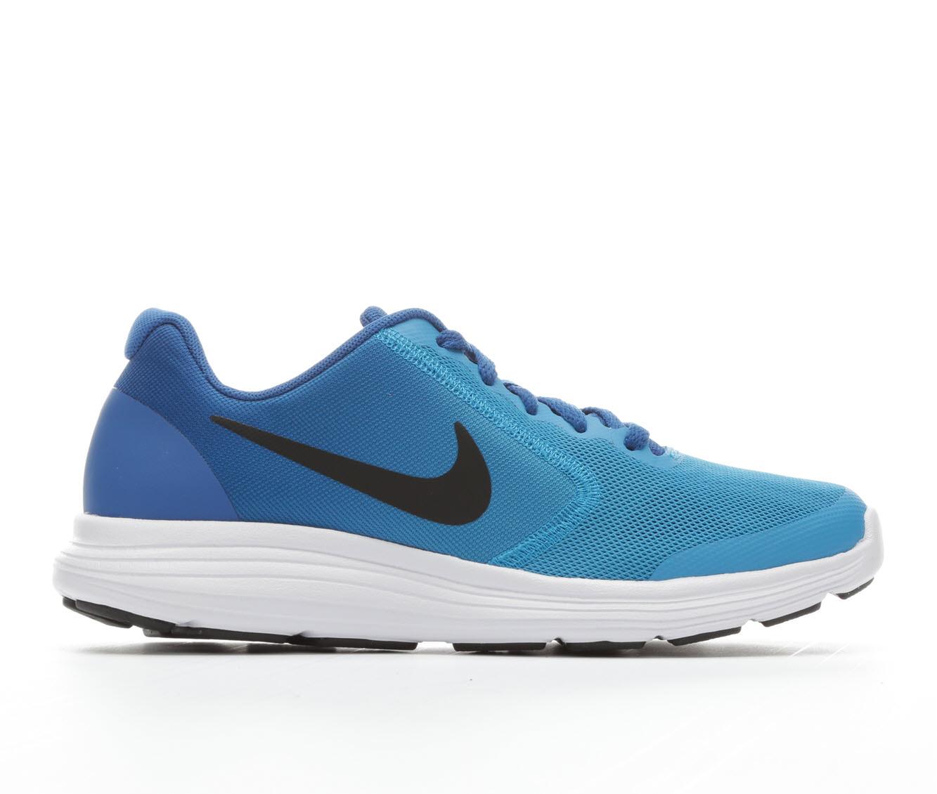 Boys' Nike Revolution 3 Athletic Shoes (Blue)