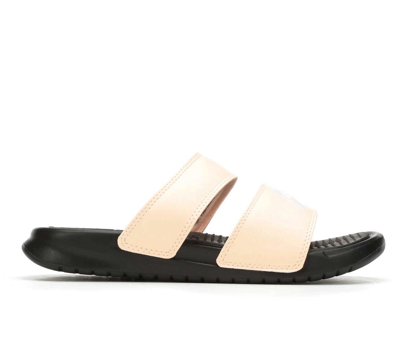Women's Nike Benassi Duo Sport Slides (Pink)