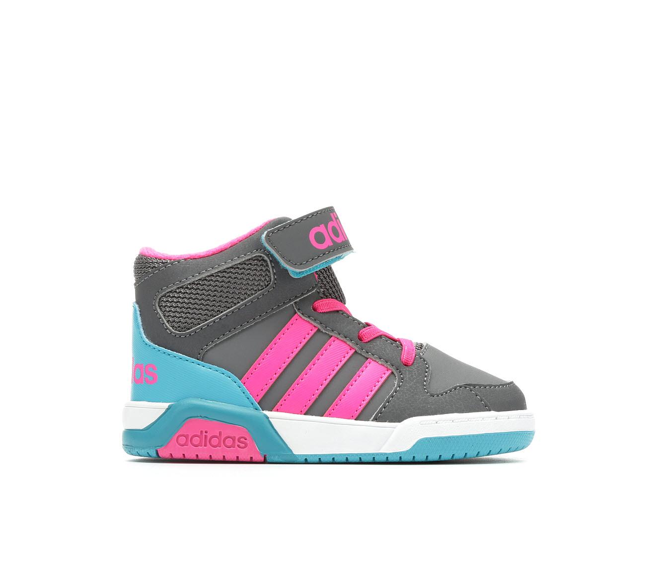 Girls' Adidas Infant BB9TIS Sneakers (Grey)