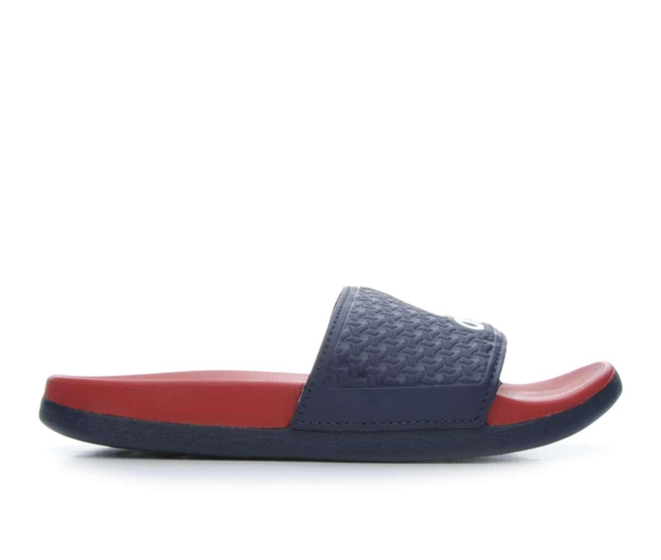 Girls' Adidas Adilette Supercloud Plus Boys Sport Slides (Blue)