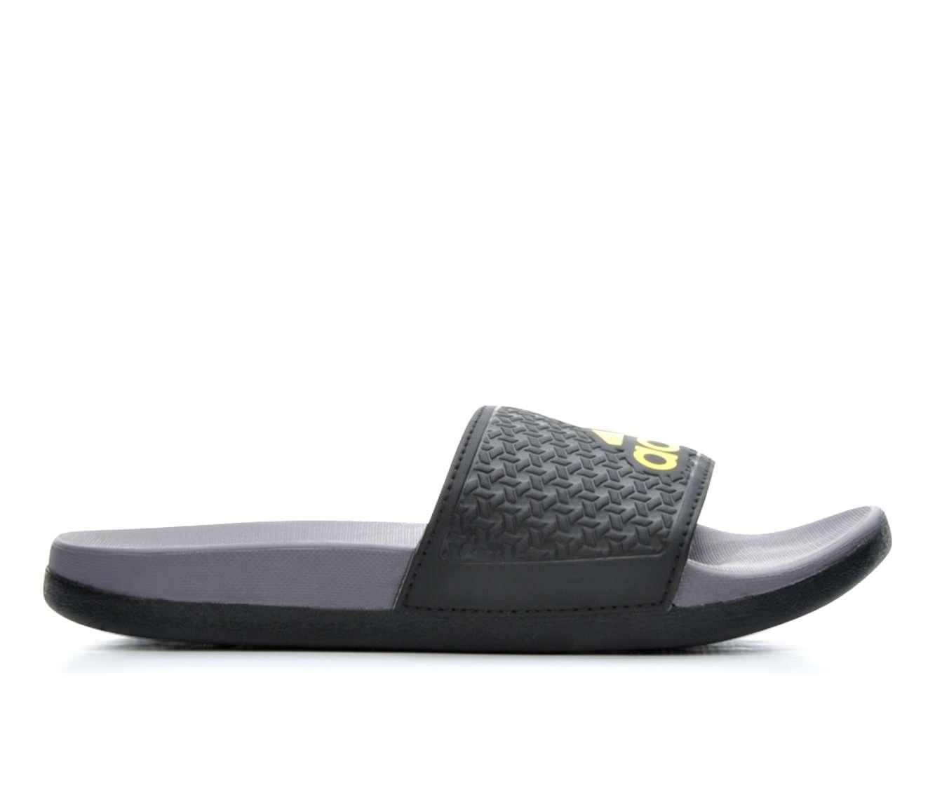 Girls' Adidas Adilette Supercloud Plus Boys Sport Slides (Black)