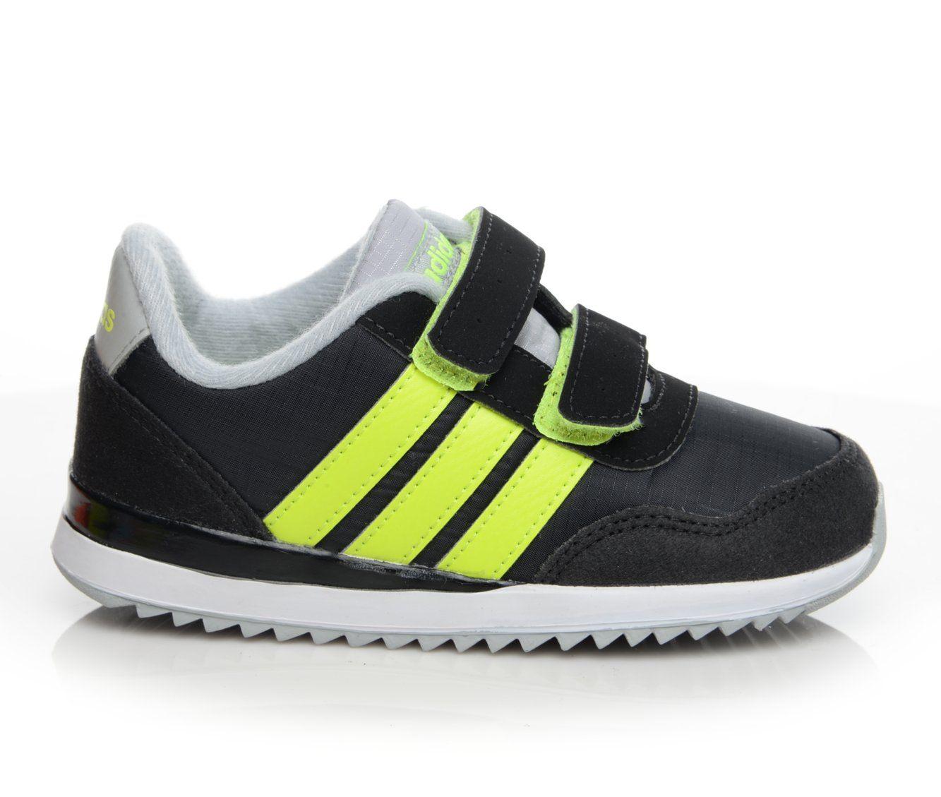 Boys' Adidas Infant V Jog CMF Sneakers (Black)