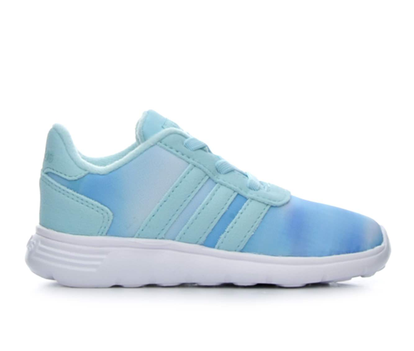 Girls' Adidas Infant Lite Racer Sneakers (Blue - Size 4 - ) 1616281