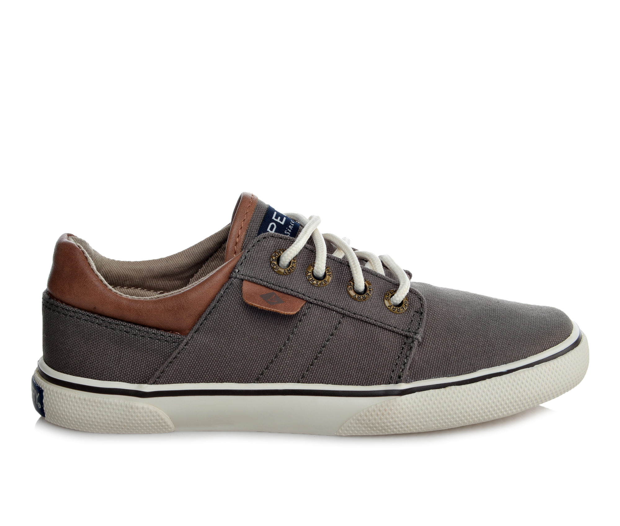Boys' Sperry Ollie Sneakers (Grey)