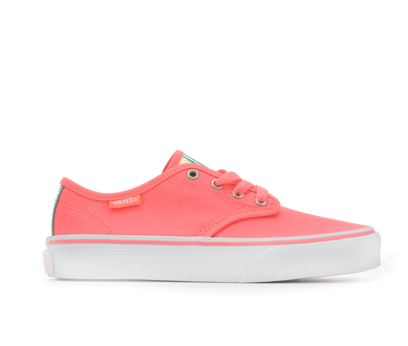 Girls' Vans Camden Stripe Skate Shoes (Pink)