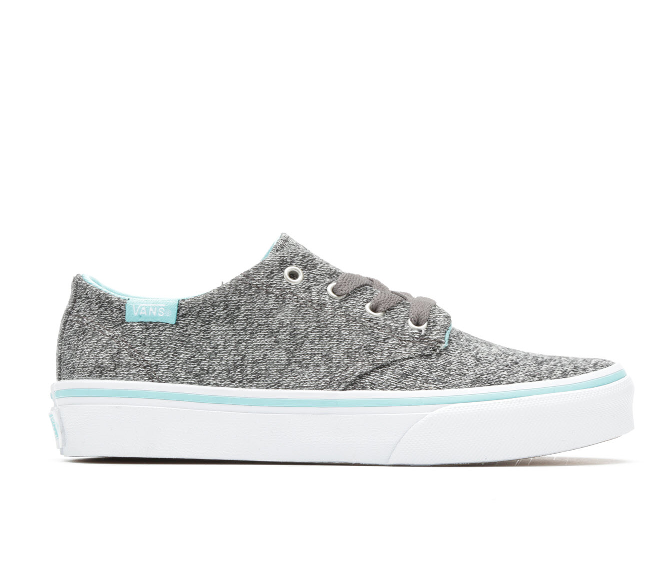 Girls' Vans Camden Stripe Skate Shoes (Grey)