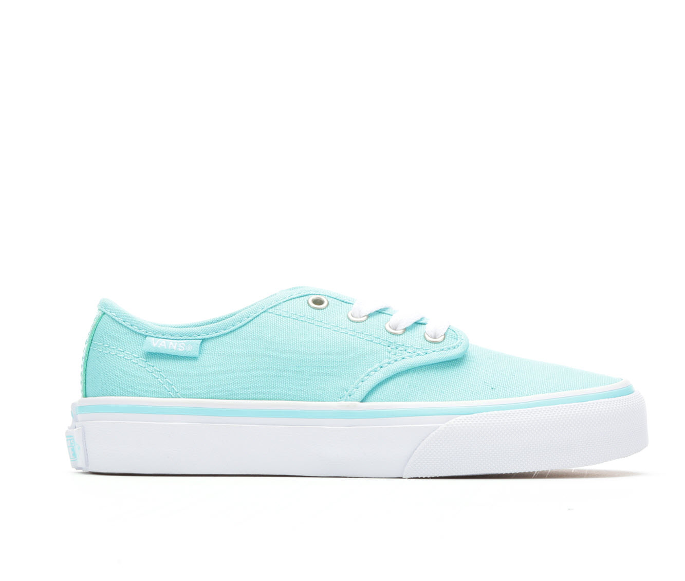 Girls' Vans Camden Stripe Skate Shoes (Blue)