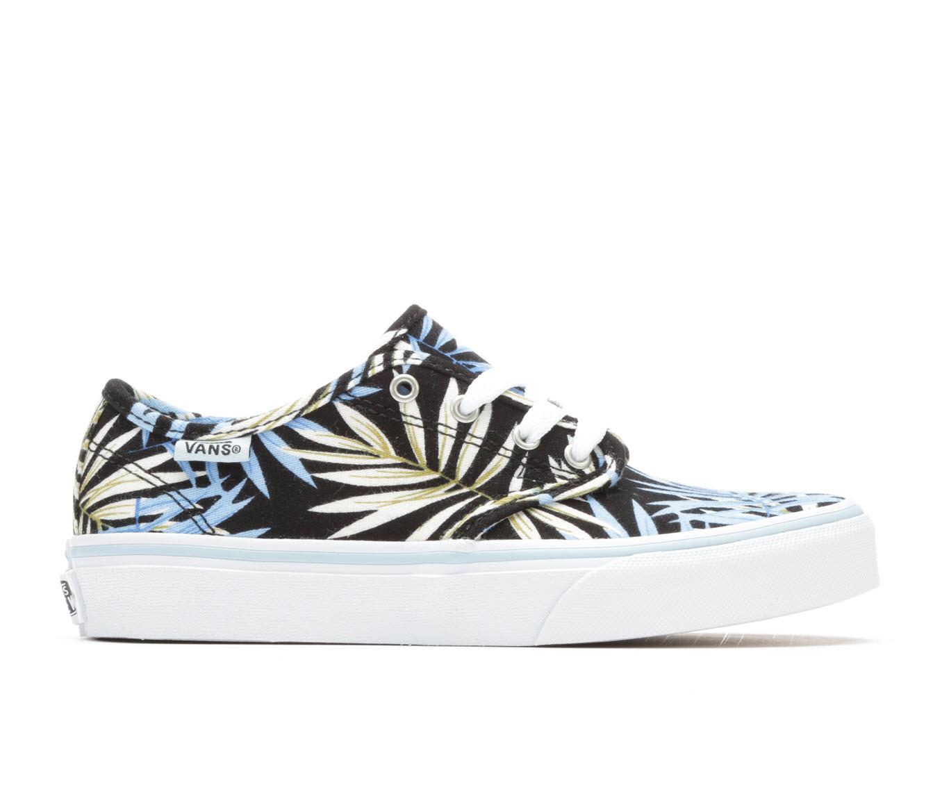 Girls' Vans Camden Stripe Skate Shoes (Black)