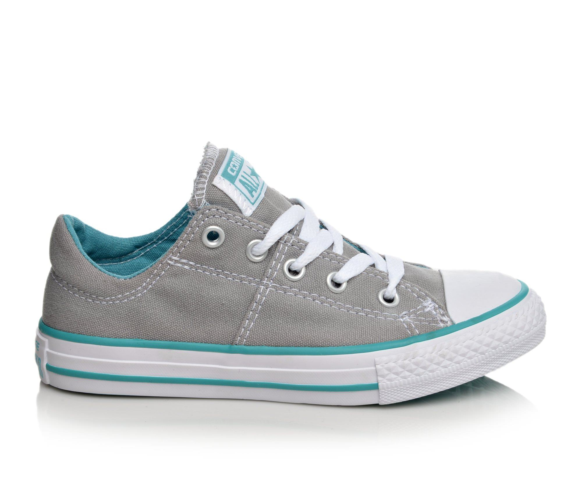 Girls' Converse Chuck Taylor All Star Madison Ox Sneakers (Grey)