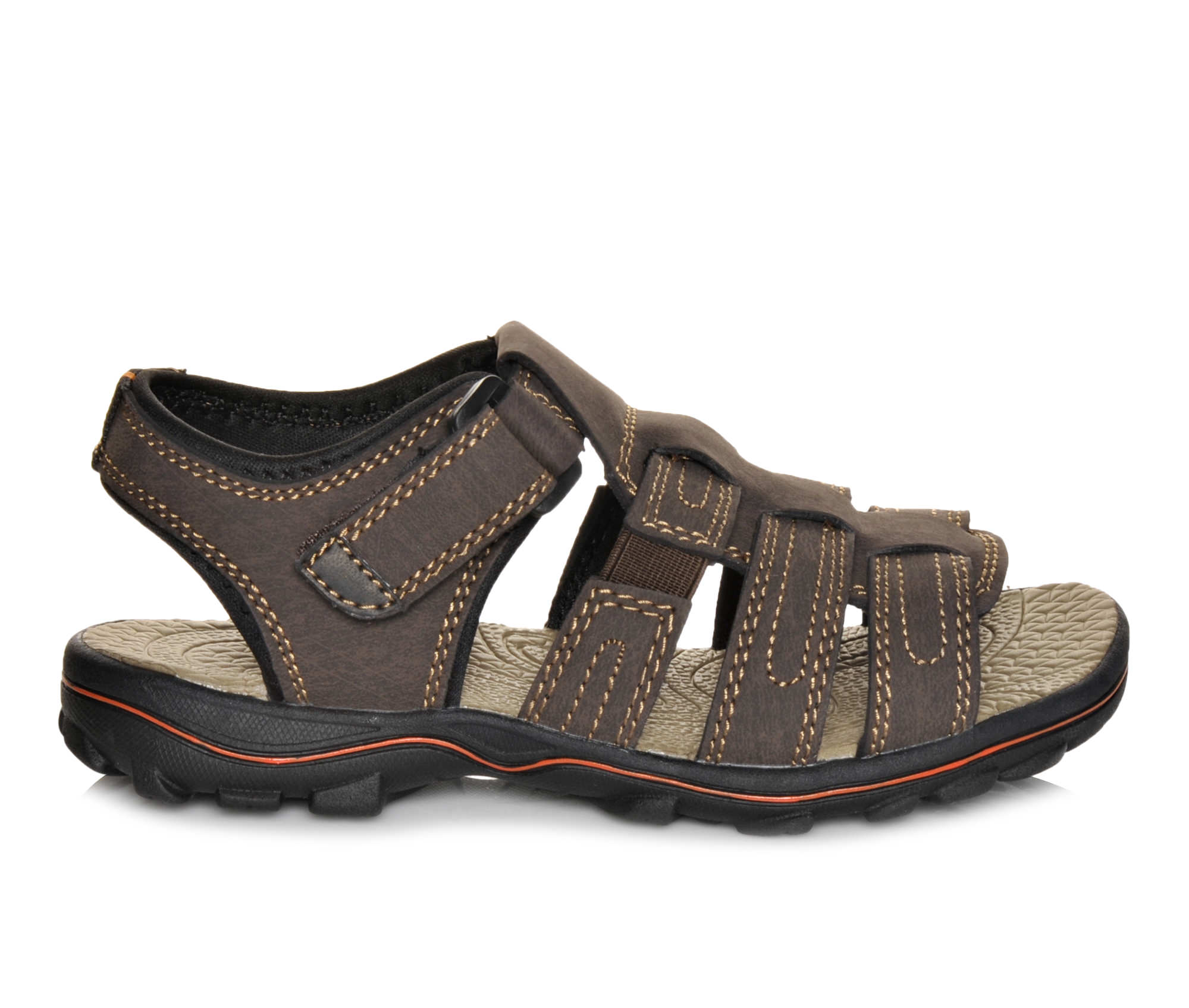 Boys' Beaver Creek Lake Sandals (Brown)