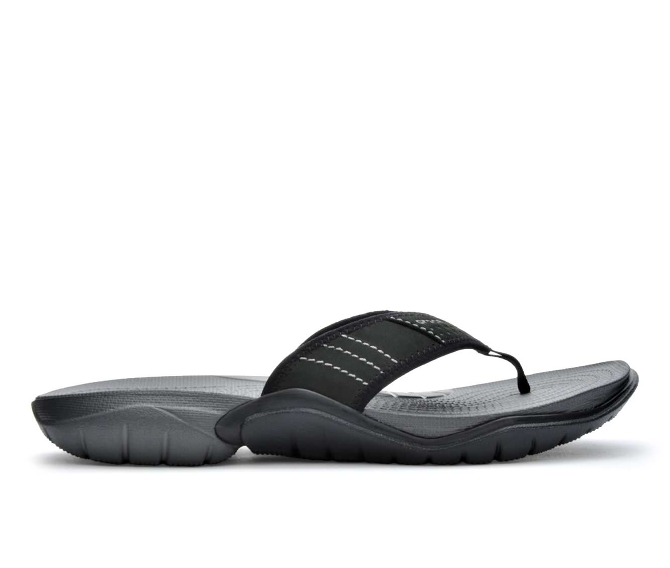 Men's Crocs Swiftwater Flip Sandals (Black)